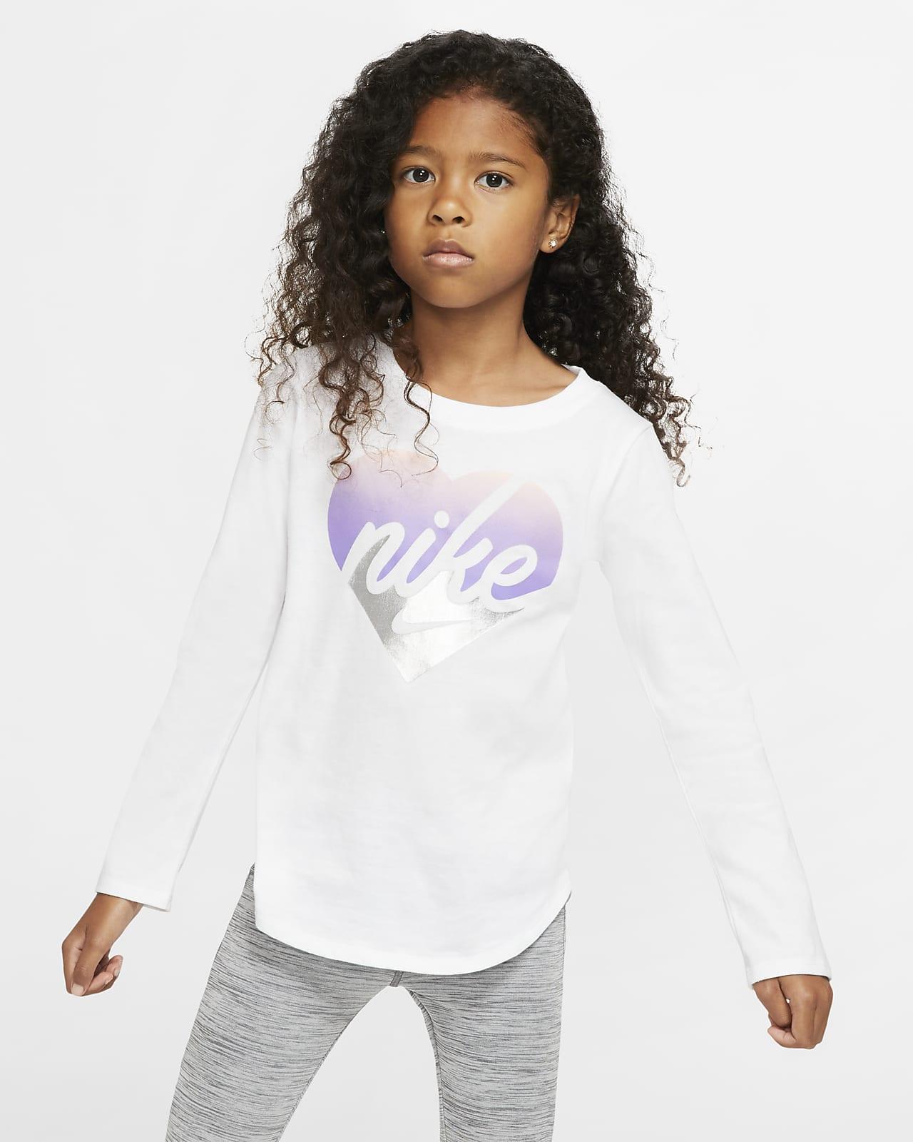Långärmad t-shirt Nike för barn