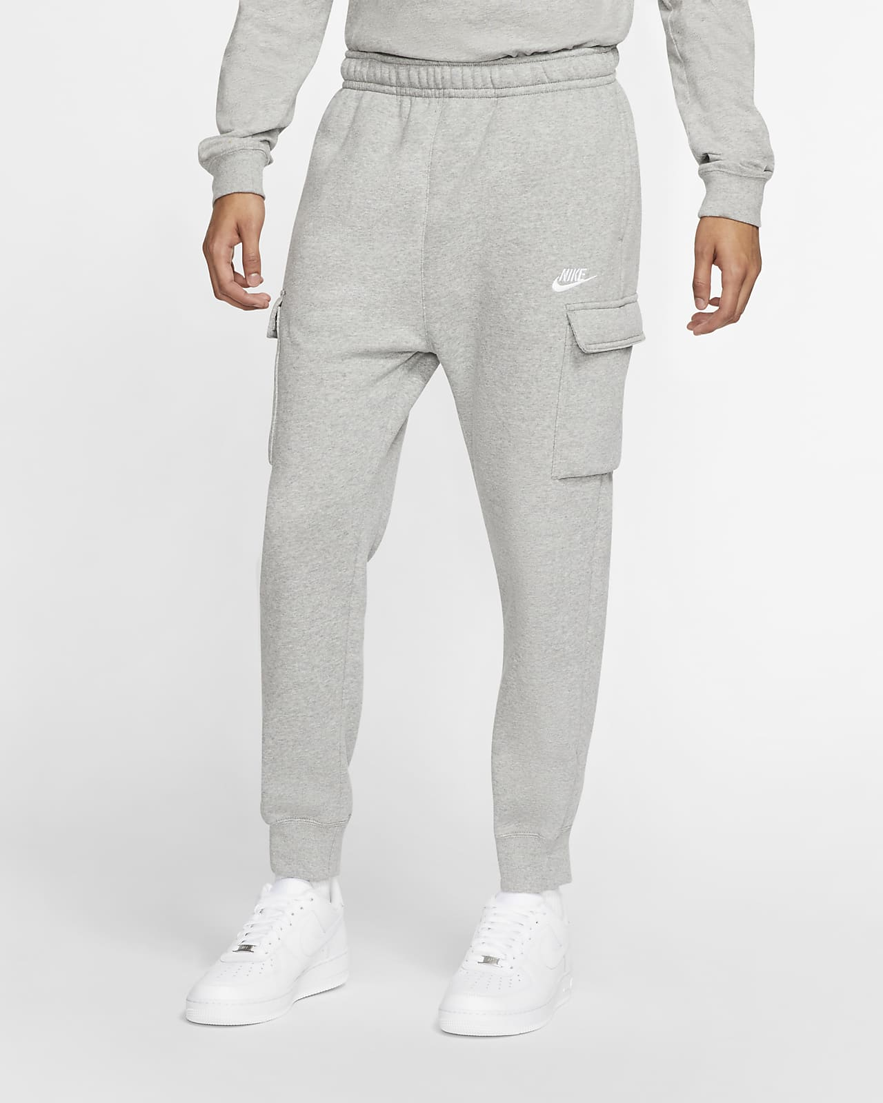 Cargobyxor Nike Sportswear Club Fleece för män