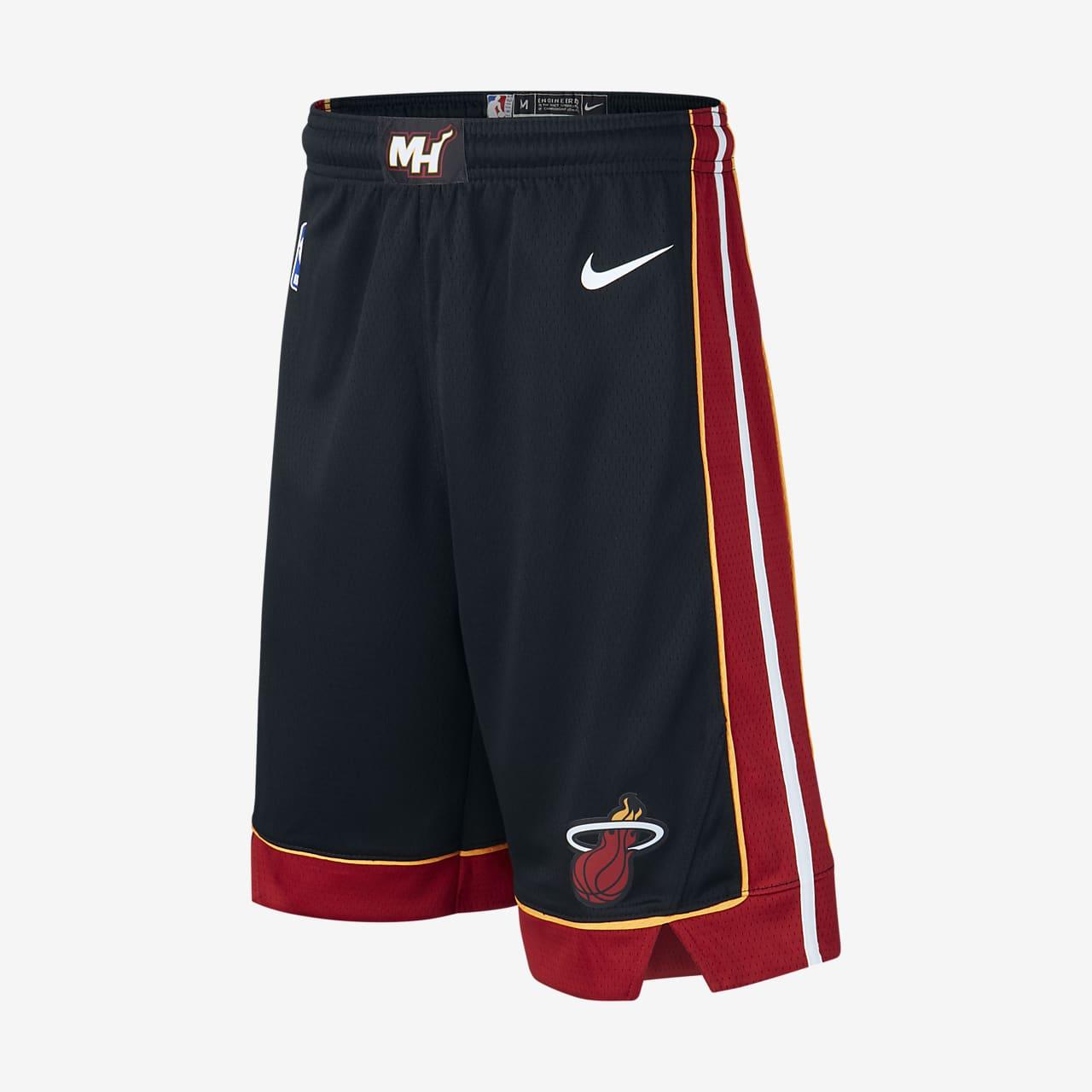 Miami Heat Icon Edition Swingman OIder Kids' Nike NBA Shorts