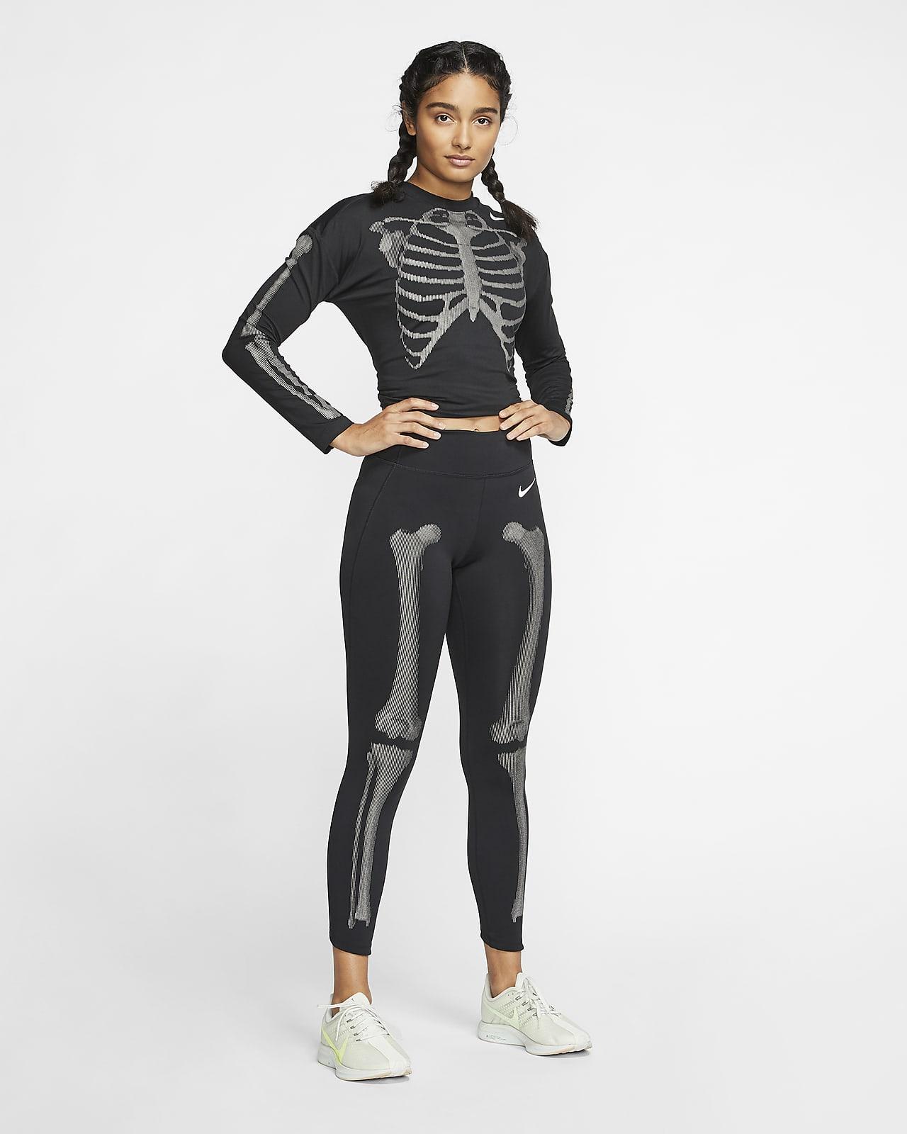Nike Women's Skeleton Leggings. Nike SG