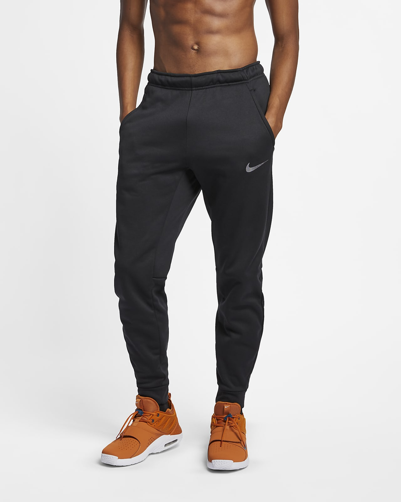 Nike Therma-FIT avsmalnet treningsbukse til herre