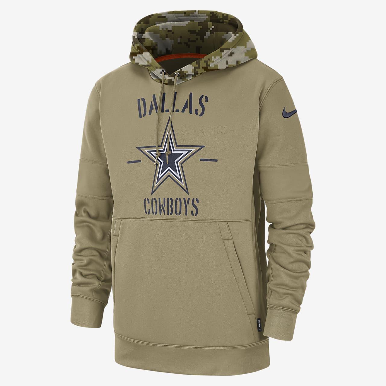 alabanza Alegrarse Amargura  Sudadera con capucha para hombre Nike Therma Salute to Service (NFL  Cowboys). Nike.com