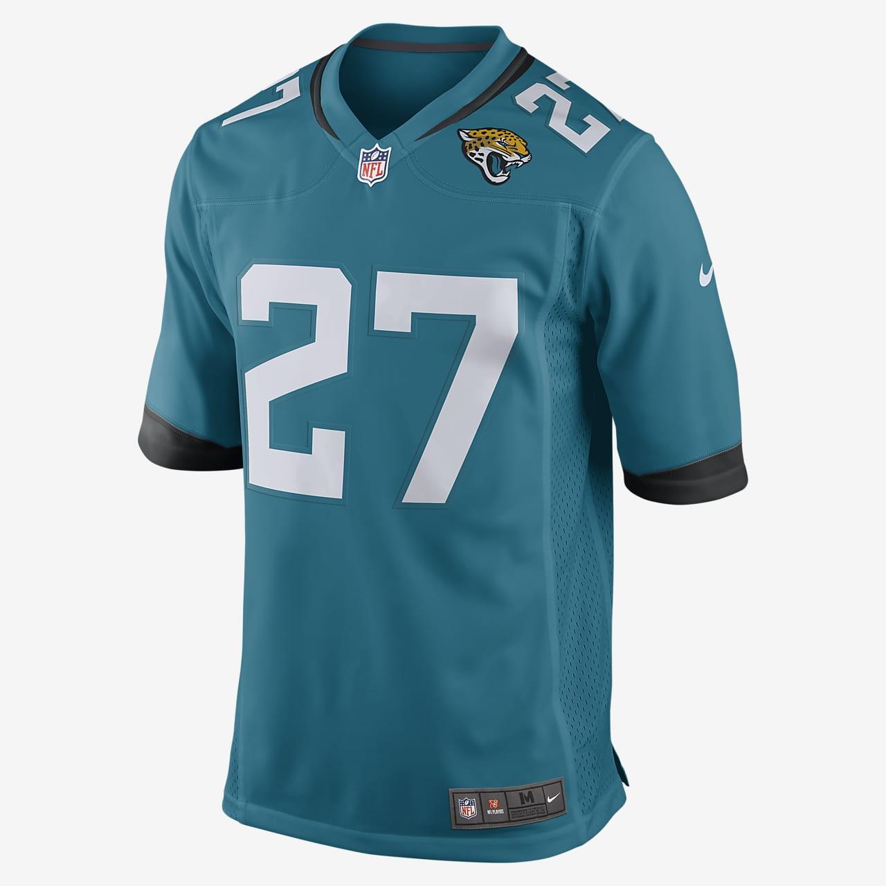 NFL Jacksonville Jaguars (Leonard Fournette) Men's Game Football Jersey