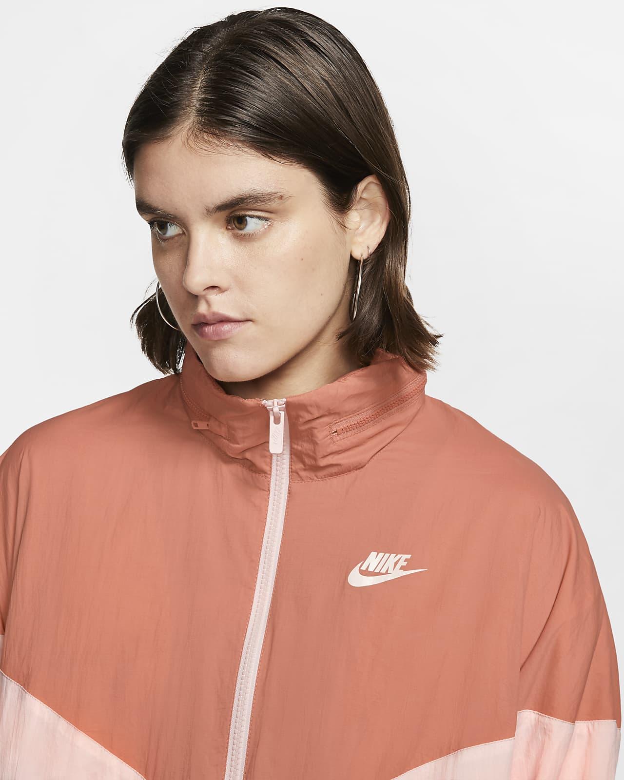 Nike W NSW Windrunner Down Fill jacka WHITEECHO PINKECHO
