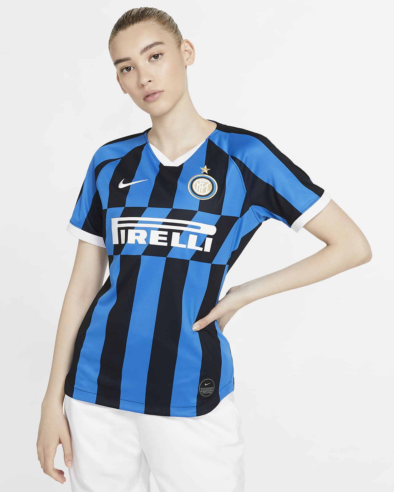 Maillot de football Inter Milan 2019/20 Stadium Home pour Femme