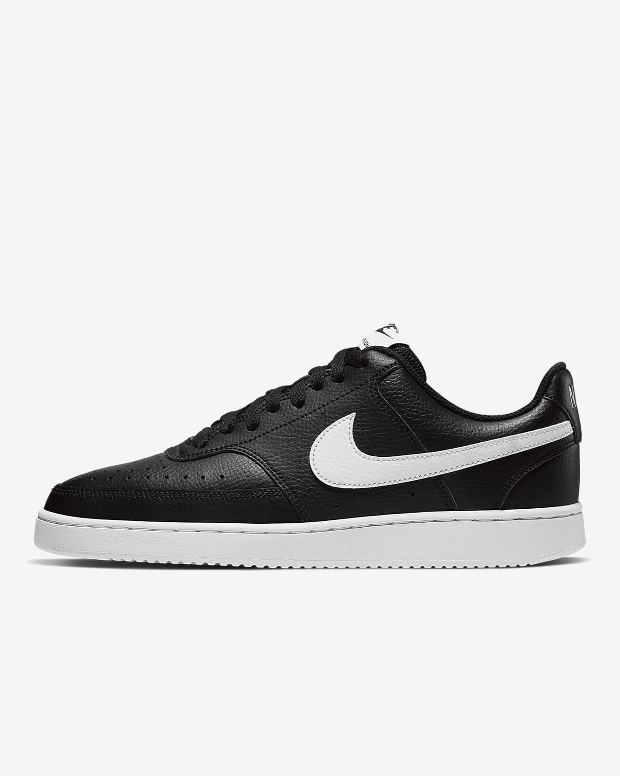 chaussure nike noir et blanc