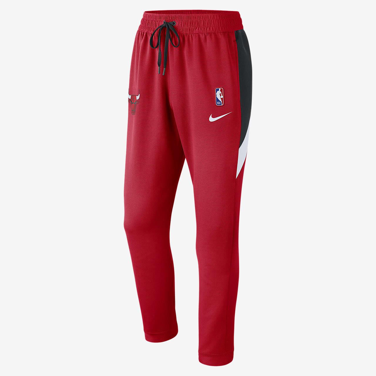 Pantalon NBA Chicago Bulls Nike Therma Flex Showtime pour Homme