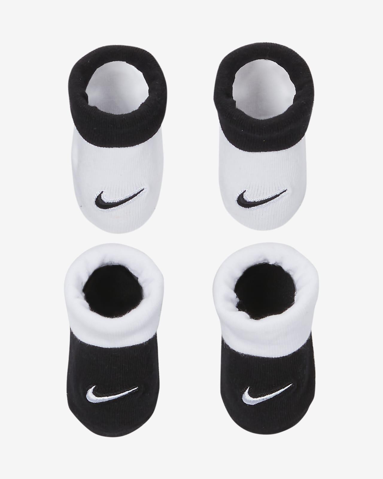 Nike Baby (0-6M) Booties (2 Pairs