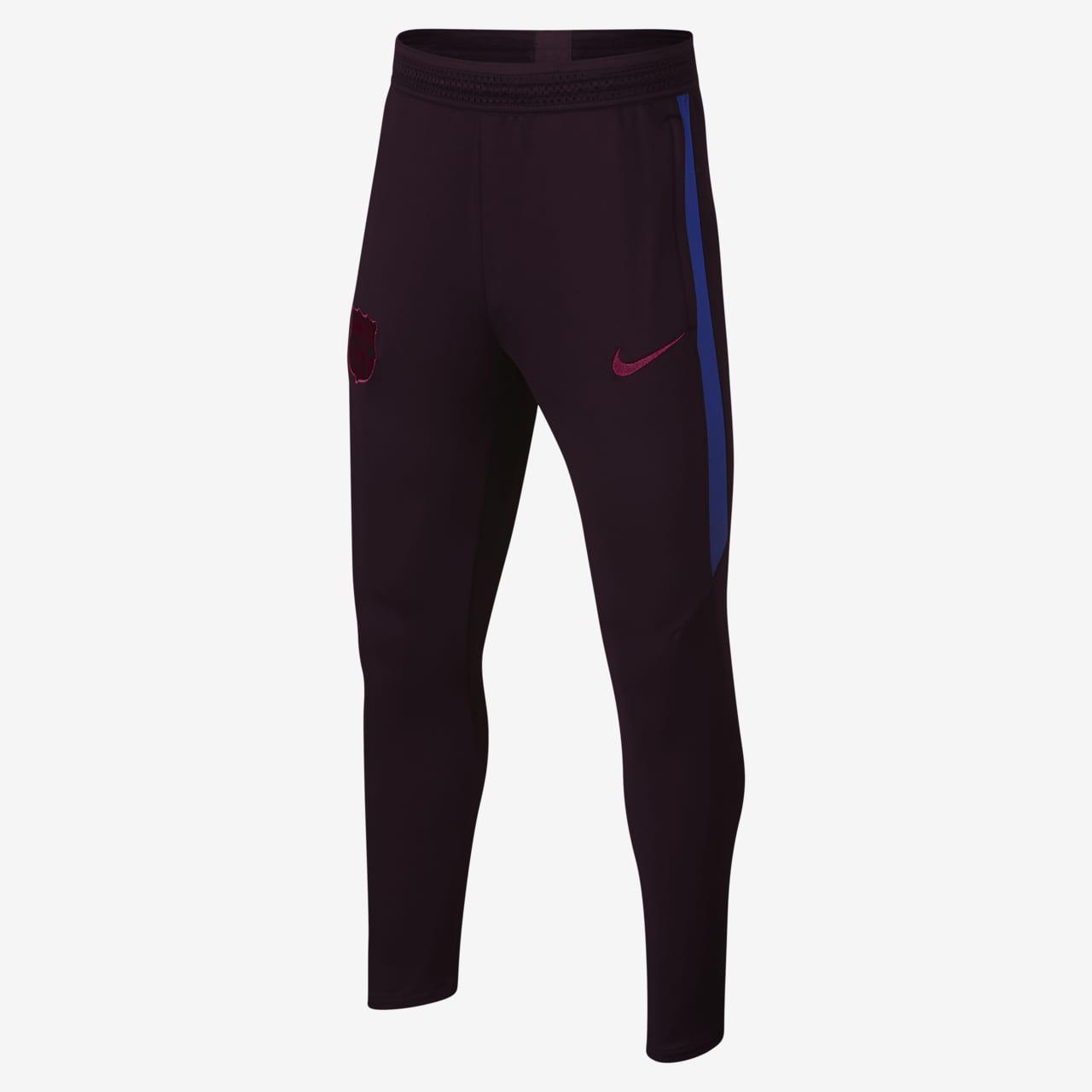 Ποδοσφαιρικό παντελόνι Nike Dri-FIT FC Barcelona Strike για μεγάλα παιδιά