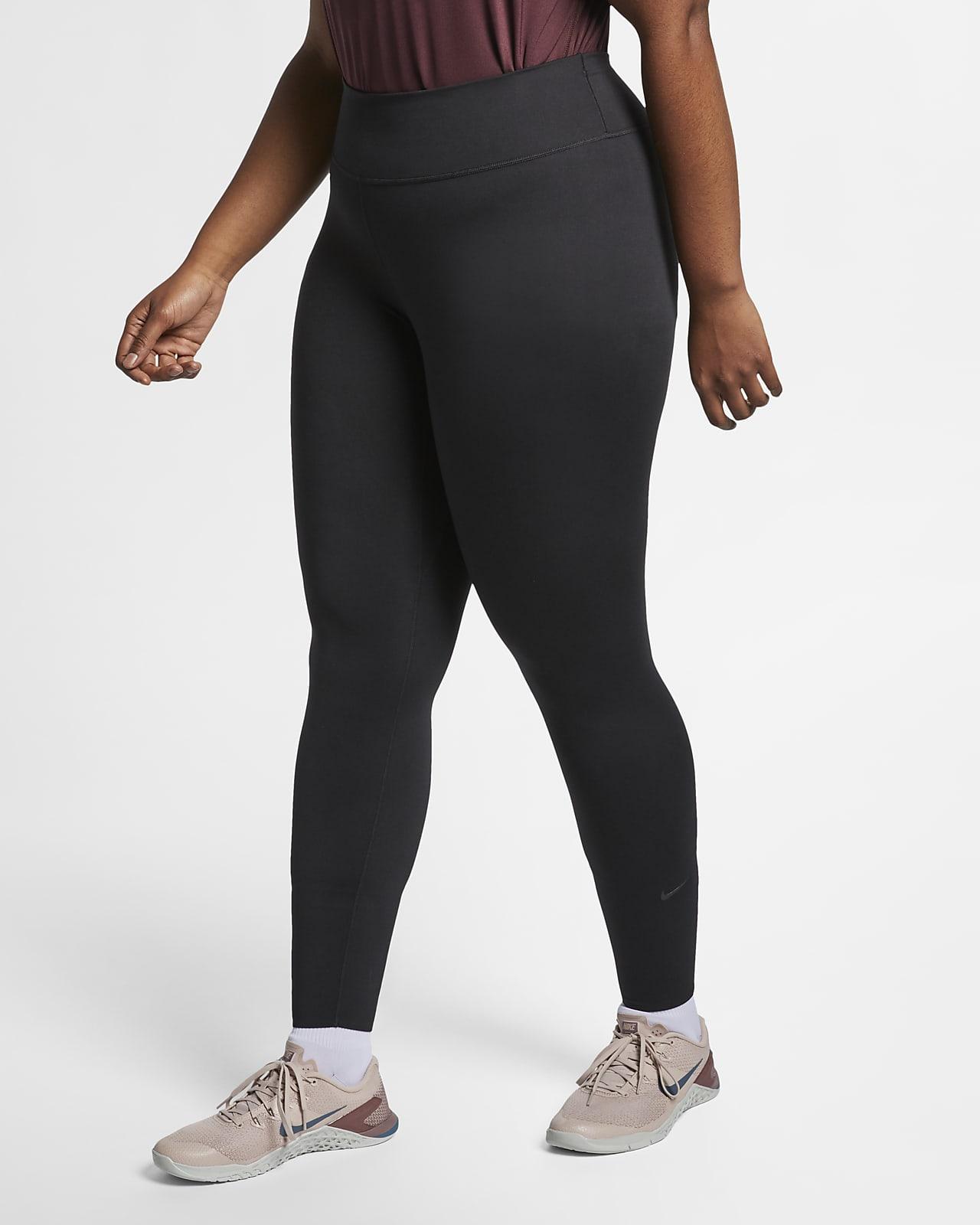 Nike One Luxe-tights (plusstørrelse) til kvinder