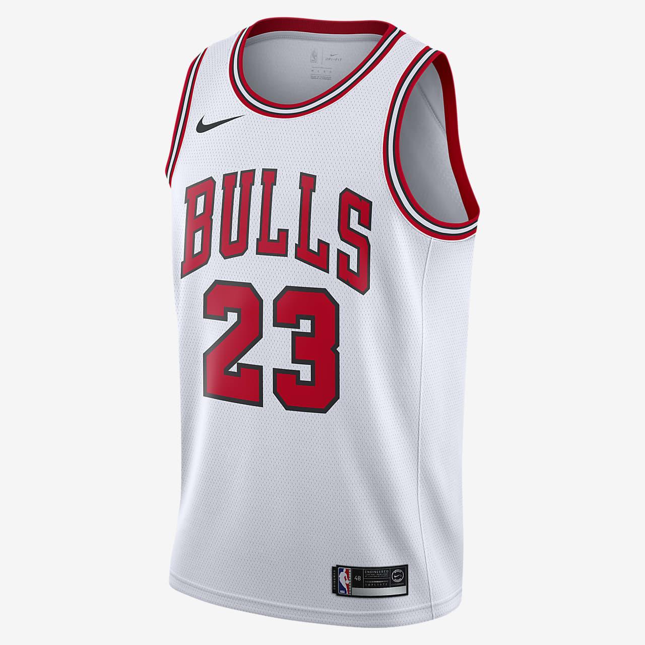 Michael Jordan Bulls Association Edition Nike NBA Swingman Jersey
