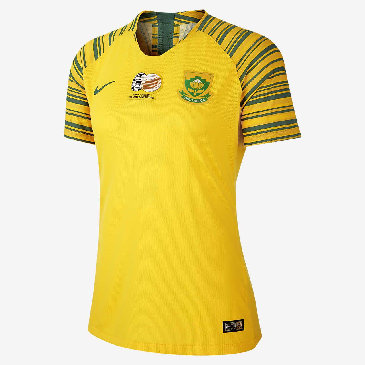 Südafrika 2019 Home Damen-Fußballtrikot