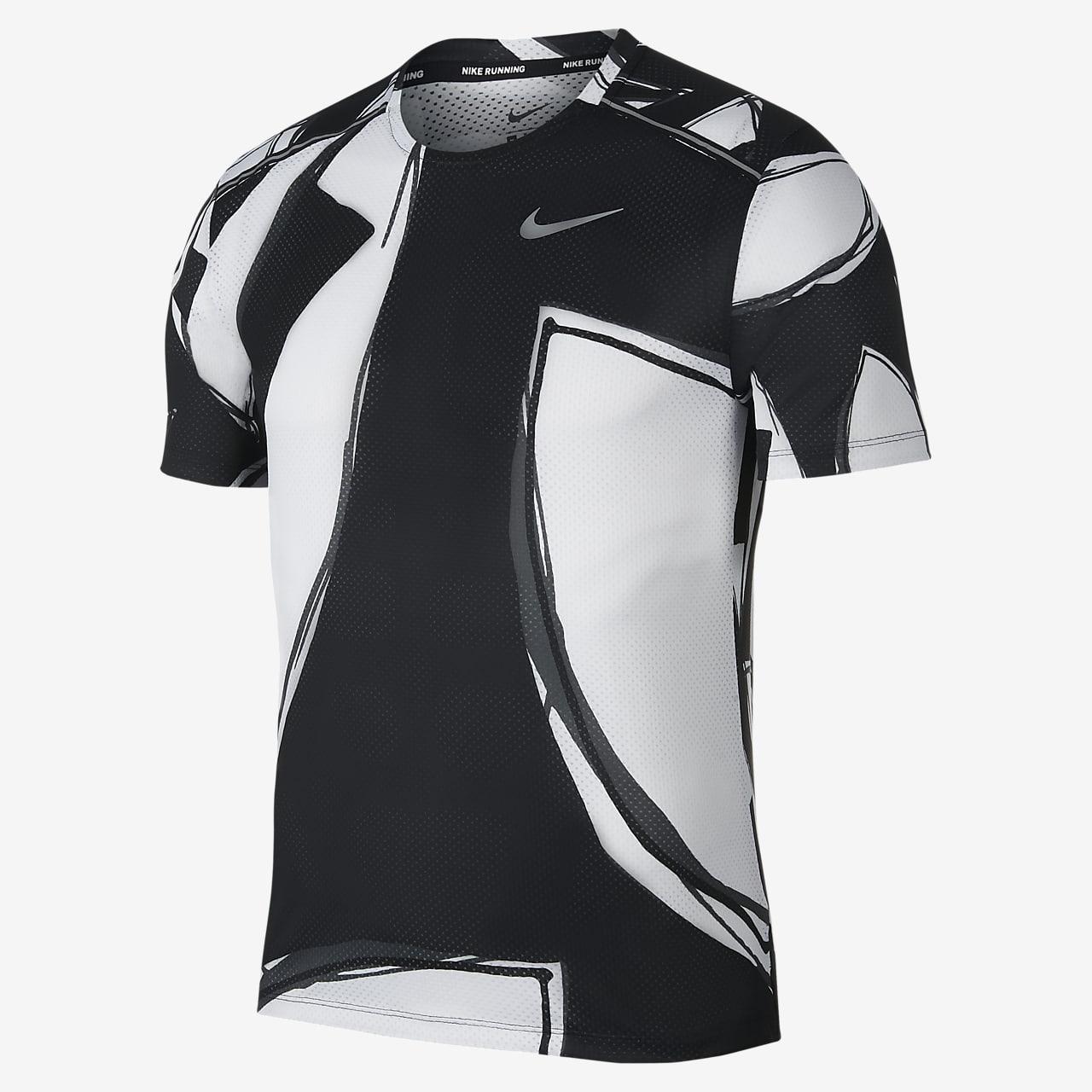 เสื้อวิ่งแขนสั้นผู้ชาย Nike Miler