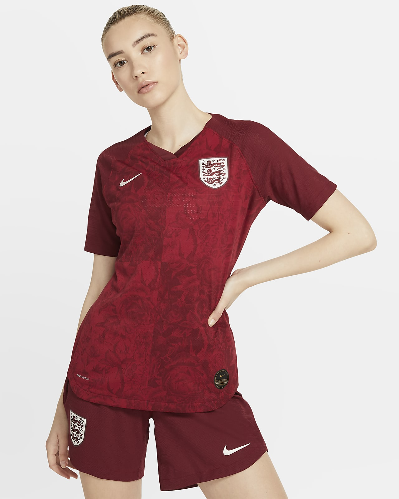 Maillot de football England 2019 Vapor Match Away pour Femme