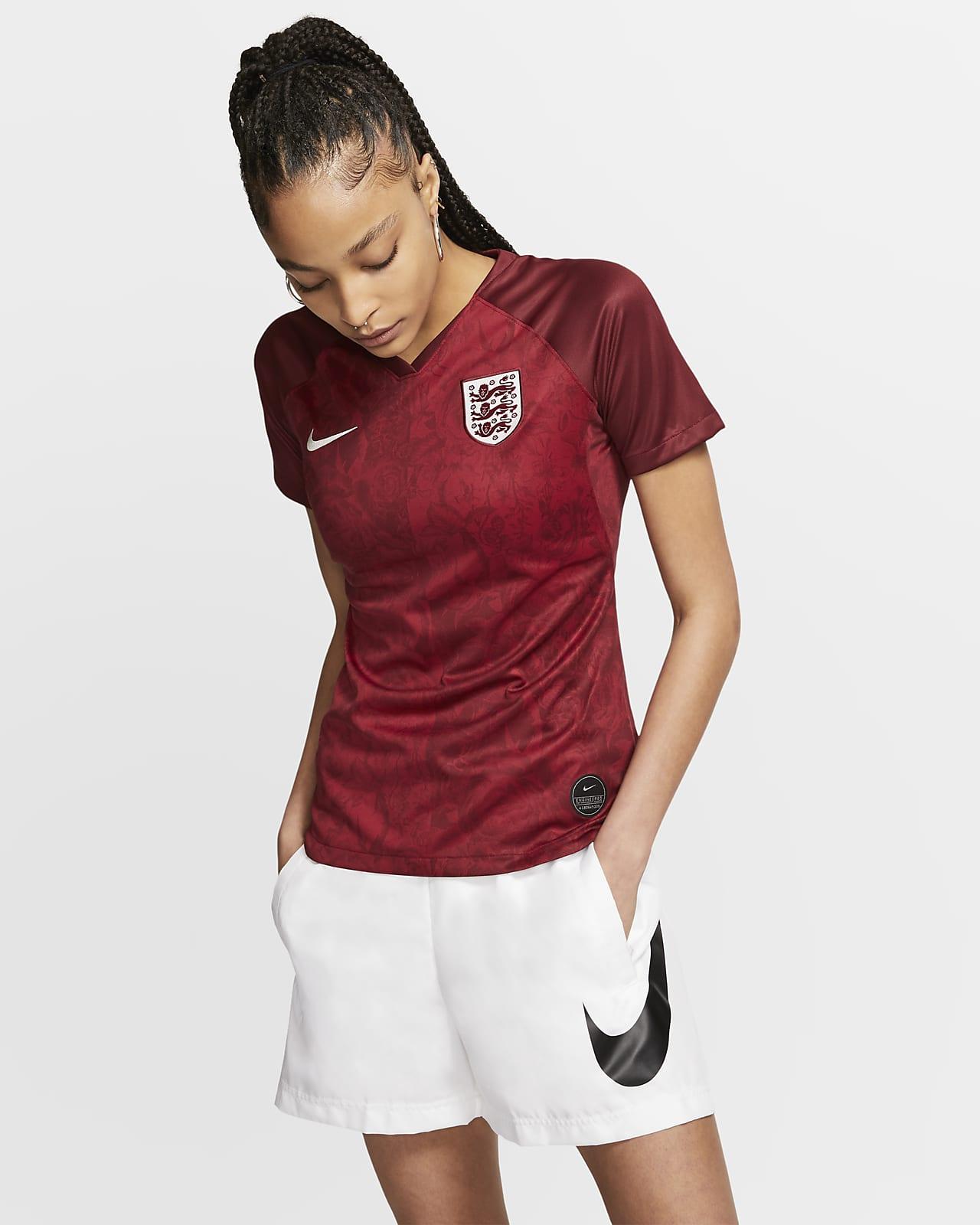 Maillot de football England 2019 Stadium Away pour Femme