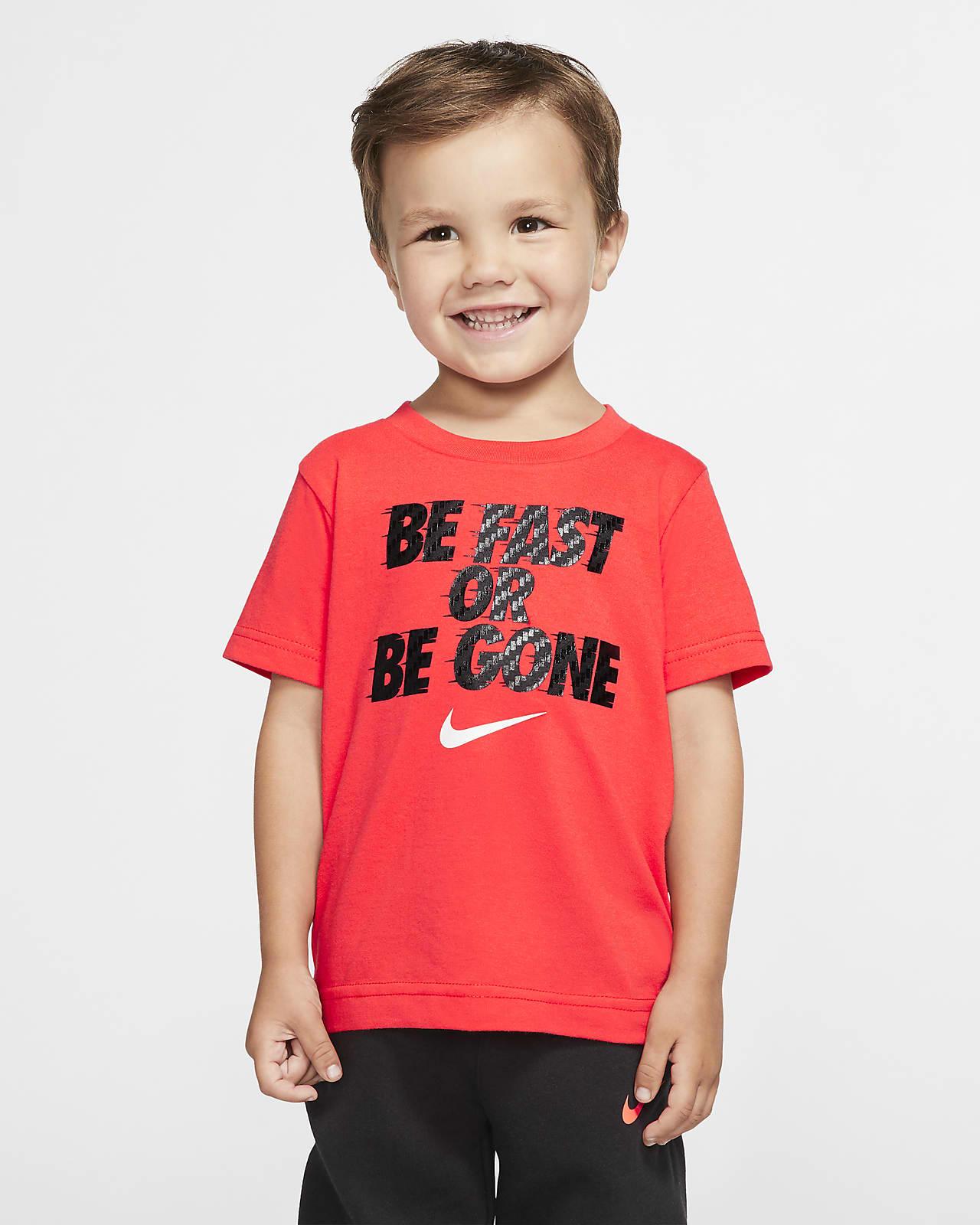 T-shirt de manga curta Nike para bebé