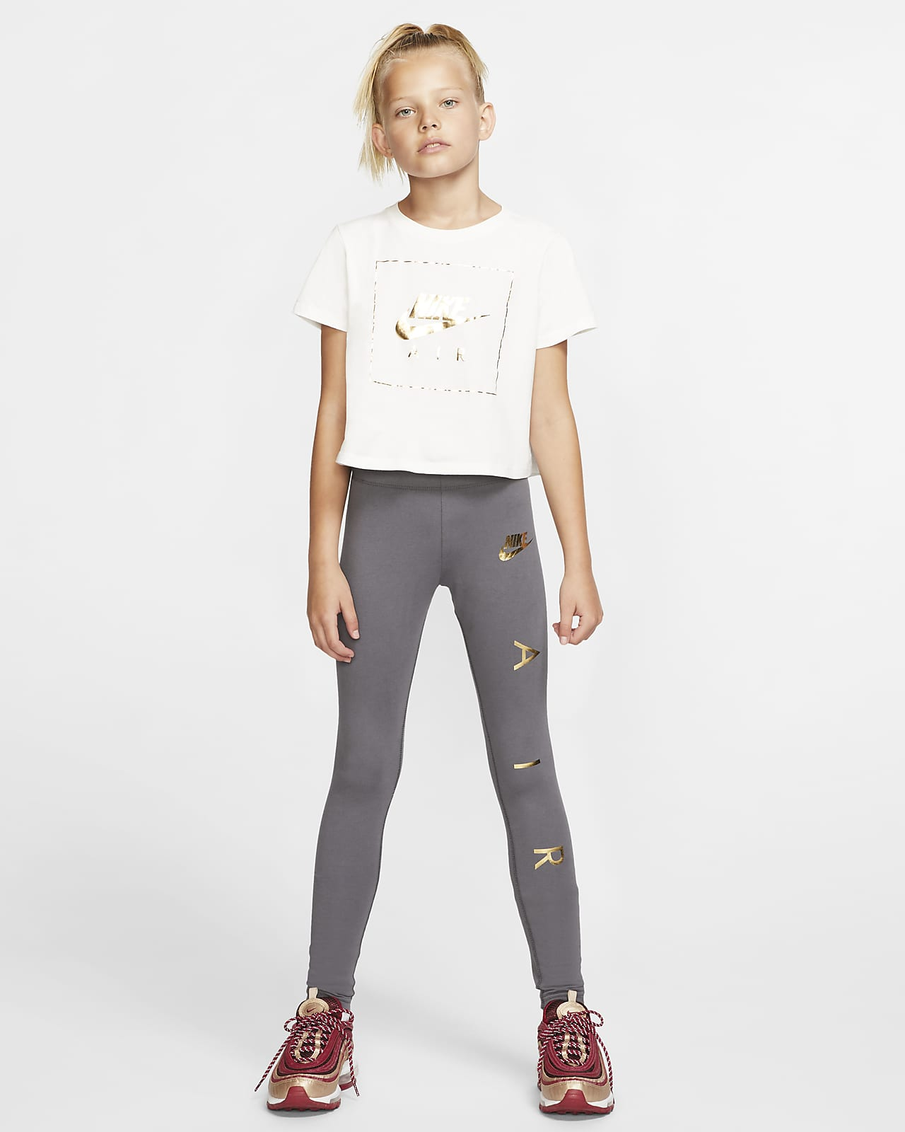 Nike Air Girls' Leggings. Nike.com