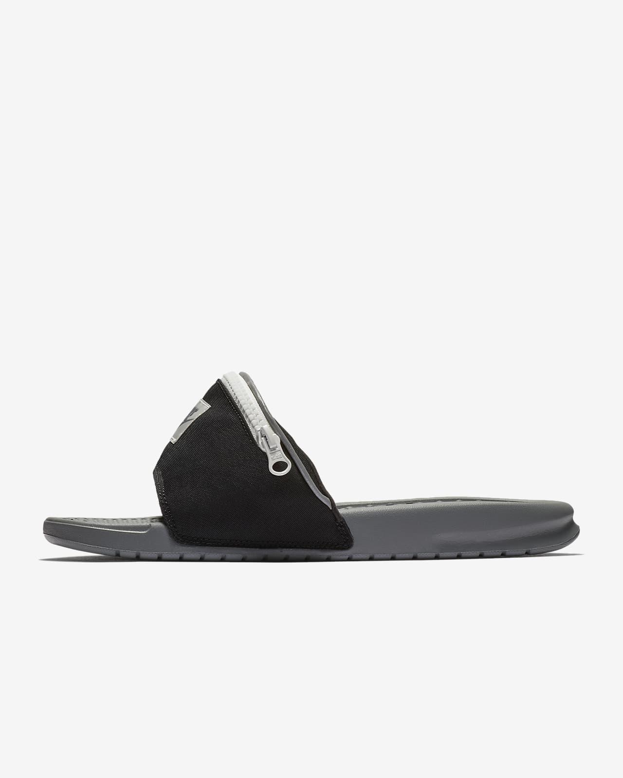 Nike Benassi JDI Fanny Pack Men's Slide