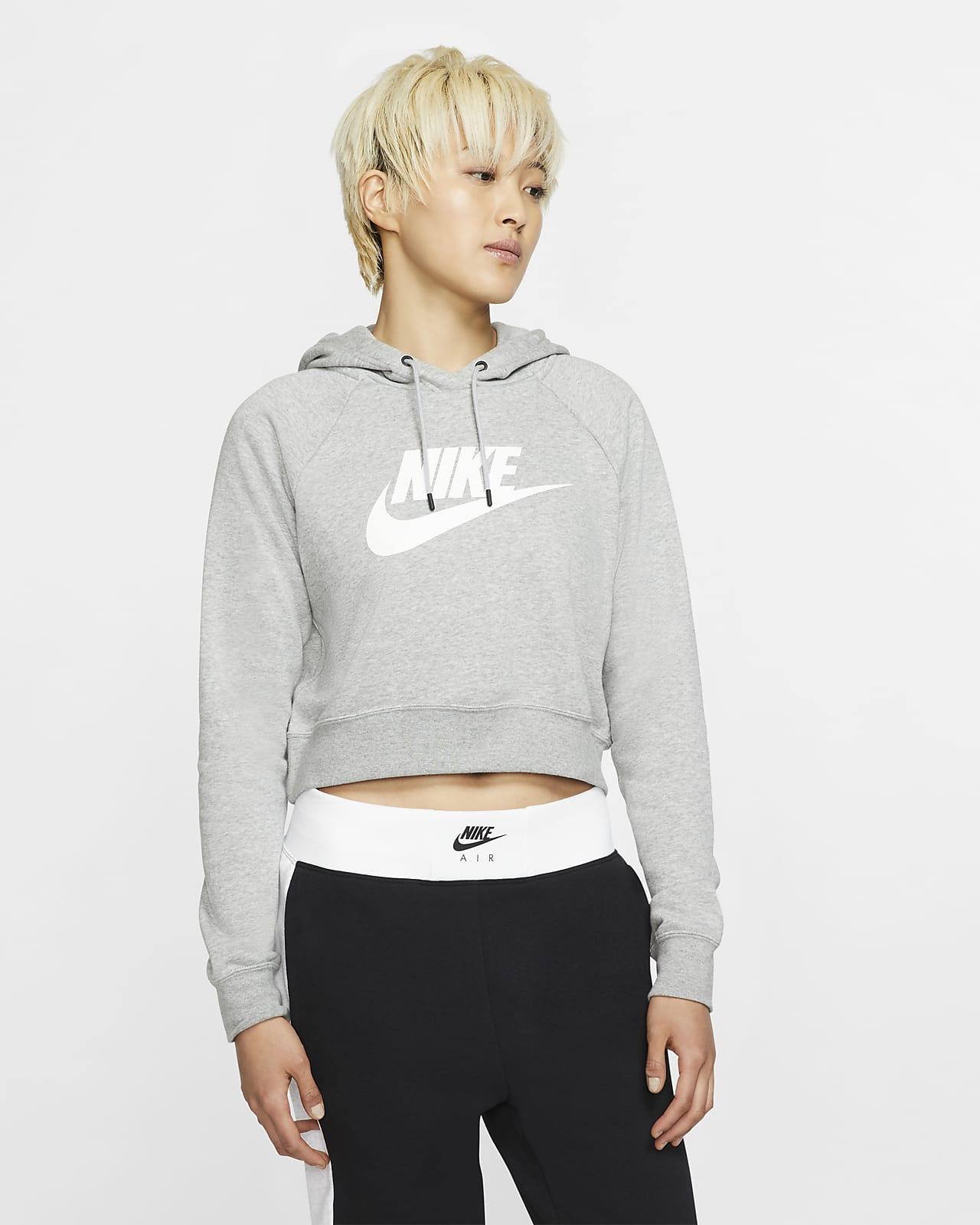 Cropped Hoodie. Nike