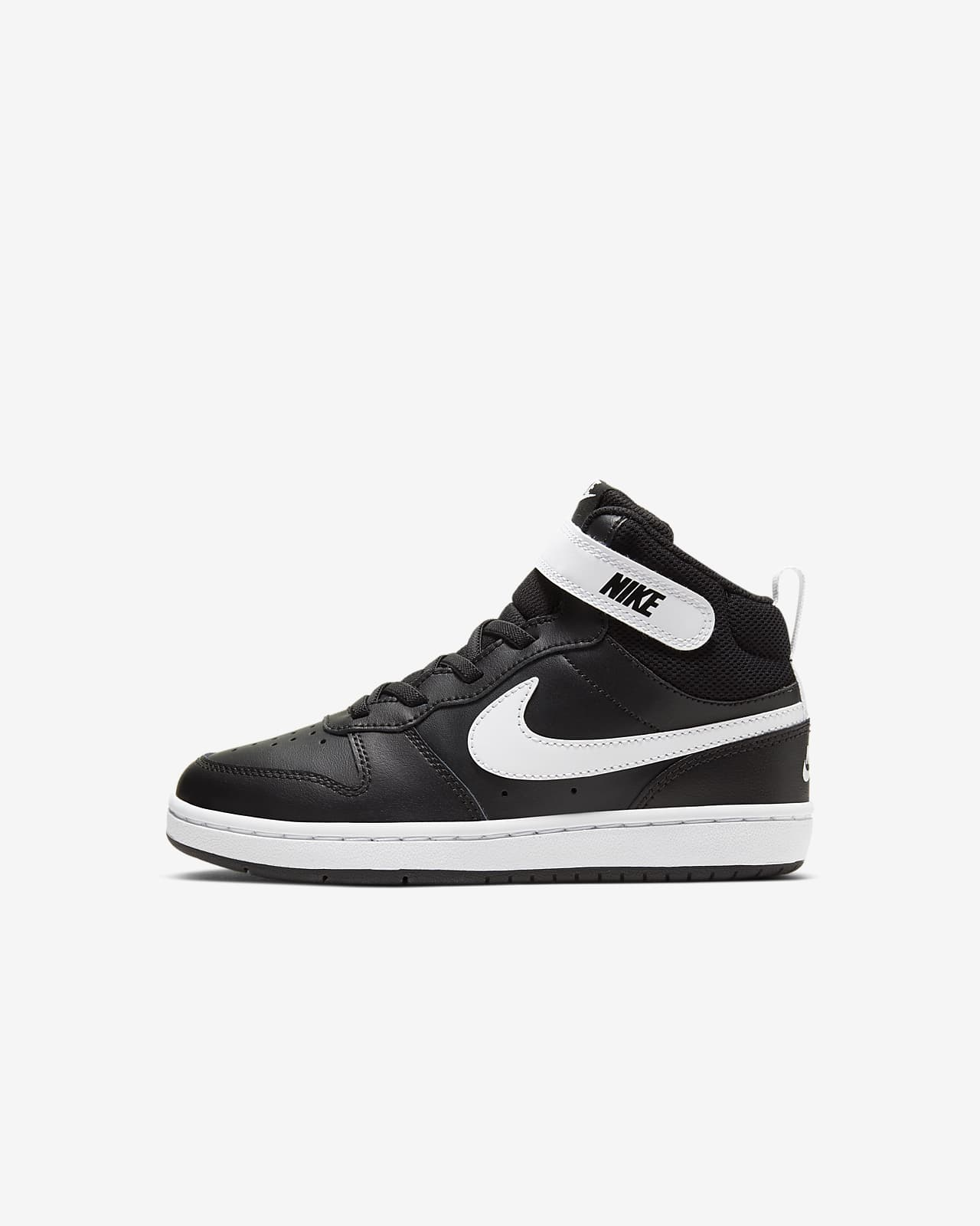 Nike Court Borough Mid 2 Kleuterschoen