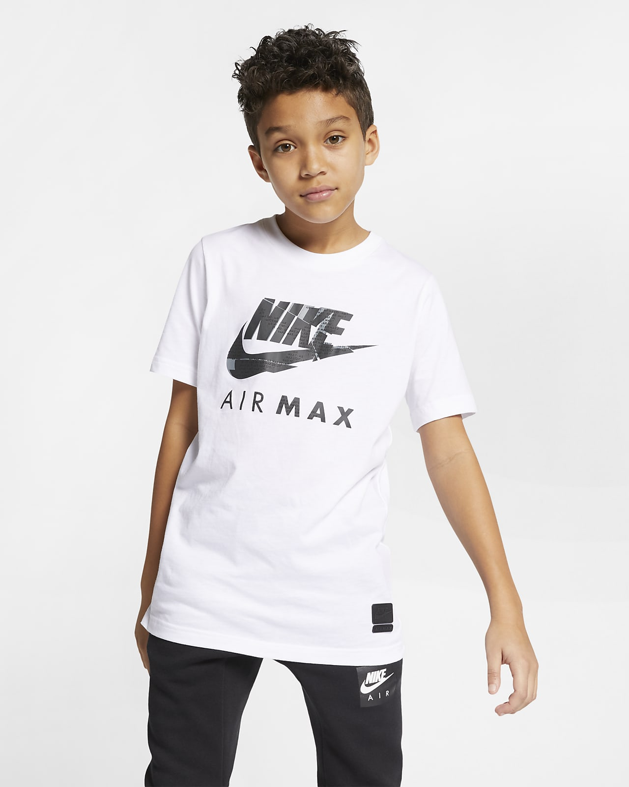 Nike Sportswear Older Kids' Cotton T Shirt. Nike NO
