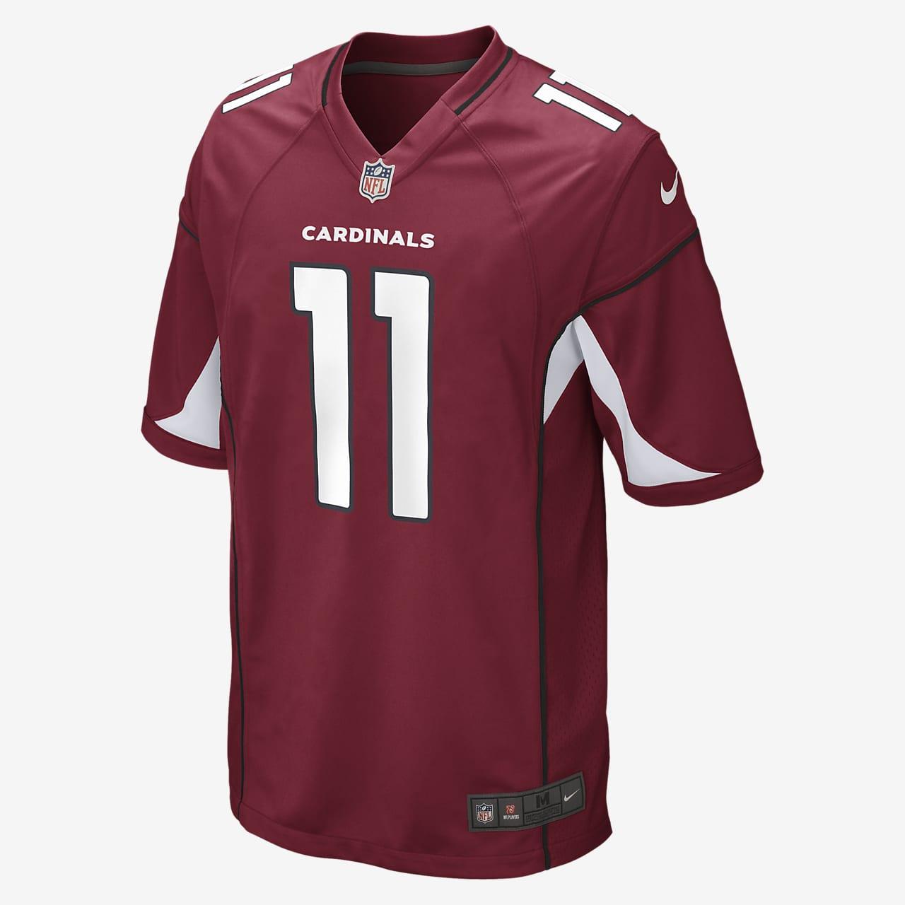 NFL Arizona Cardinals Game (Larry Fitzgerald) Men's American Football Jersey
