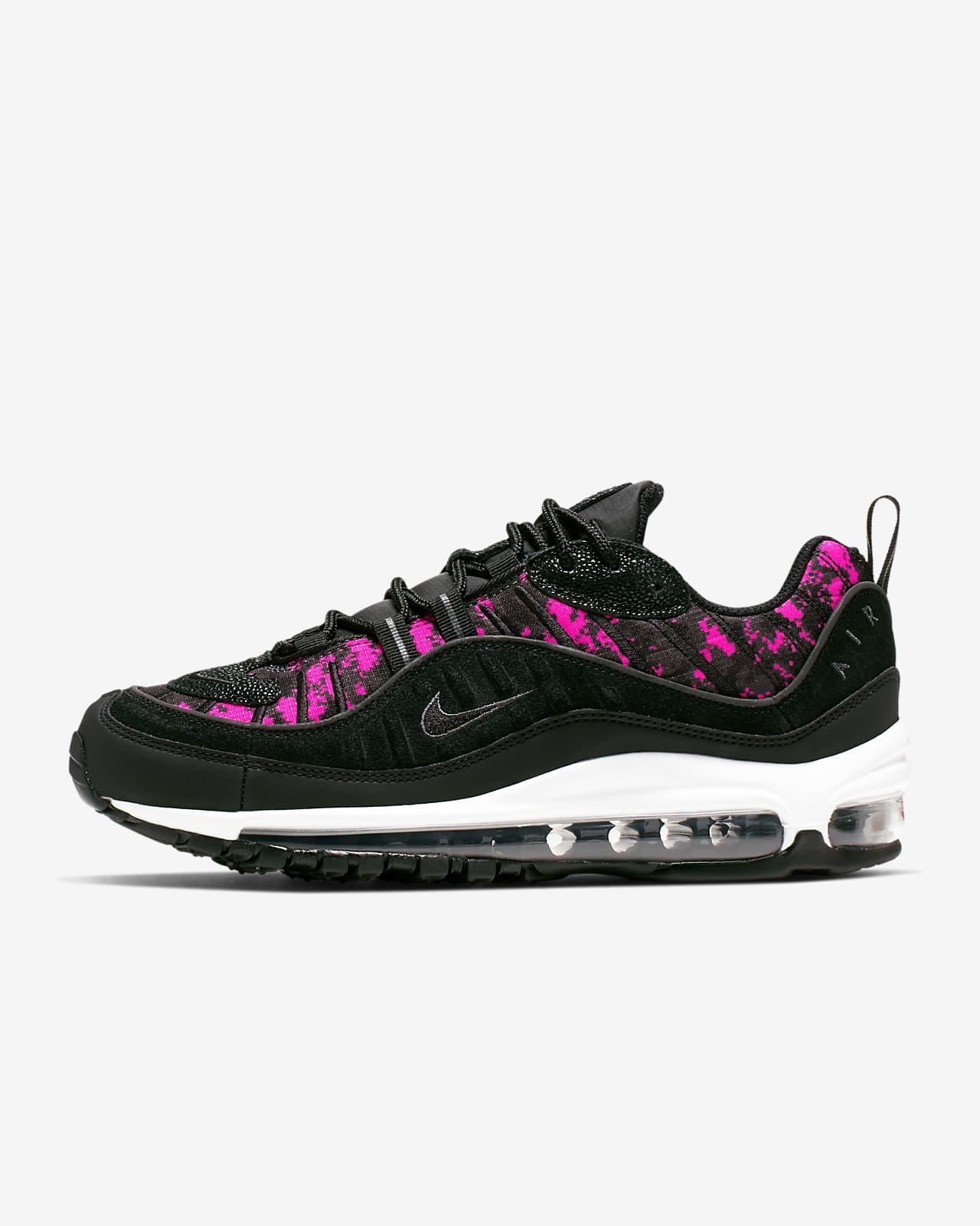 Nike Air Max 98 Premium Camo sko til kvinder