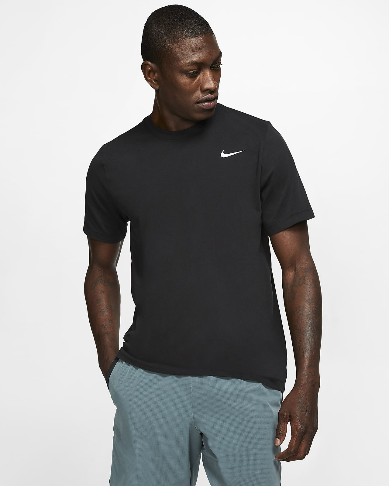Nike Pro T Shirt, t skjorte herre Svart Trening t