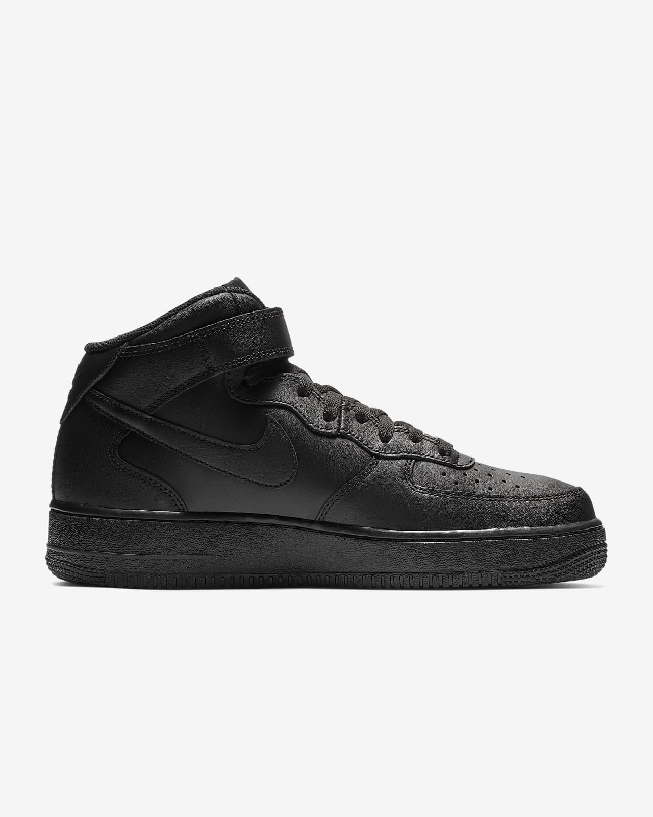 nike air force 1 mid nere e bianche