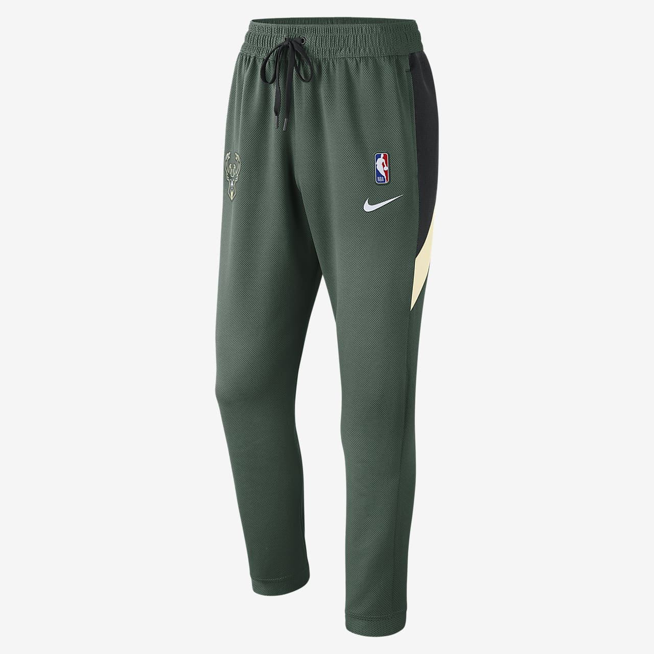 Pantalon NBA Milwaukee Bucks Nike Therma Flex Showtime pour Homme
