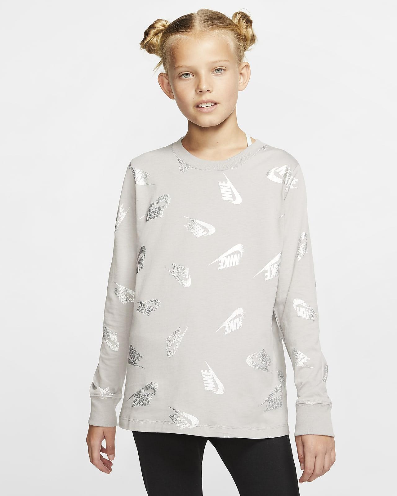 Nike Sportswear Langarm-T-Shirt für ältere Kinder