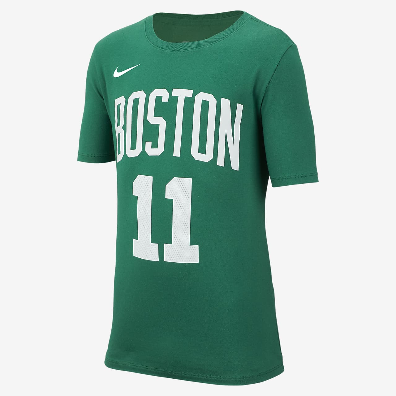 T-shirt de basquetebol Nike Icon NBA Celtics (Irving) Júnior (Rapaz)