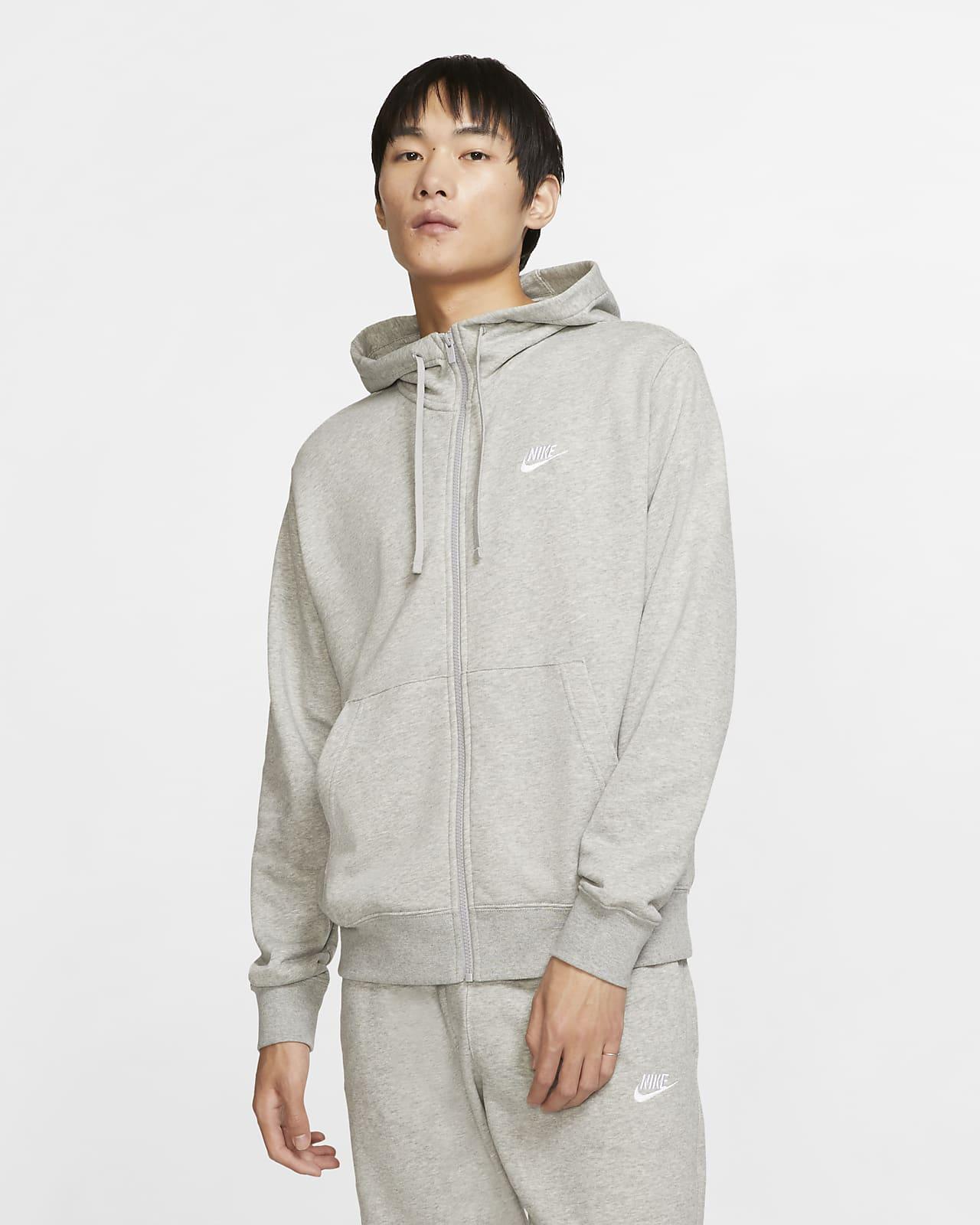 Мужская худи с молнией во всю длину Nike Sportswear Club