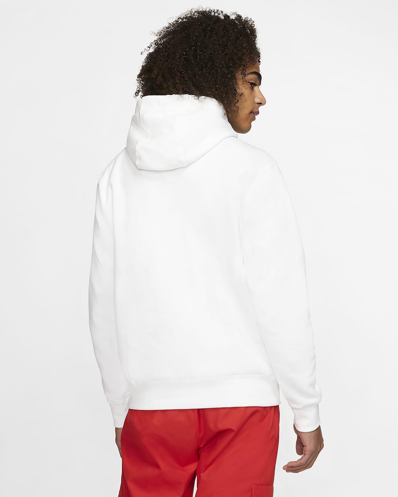 sweat nike sportswear rouge et blanc