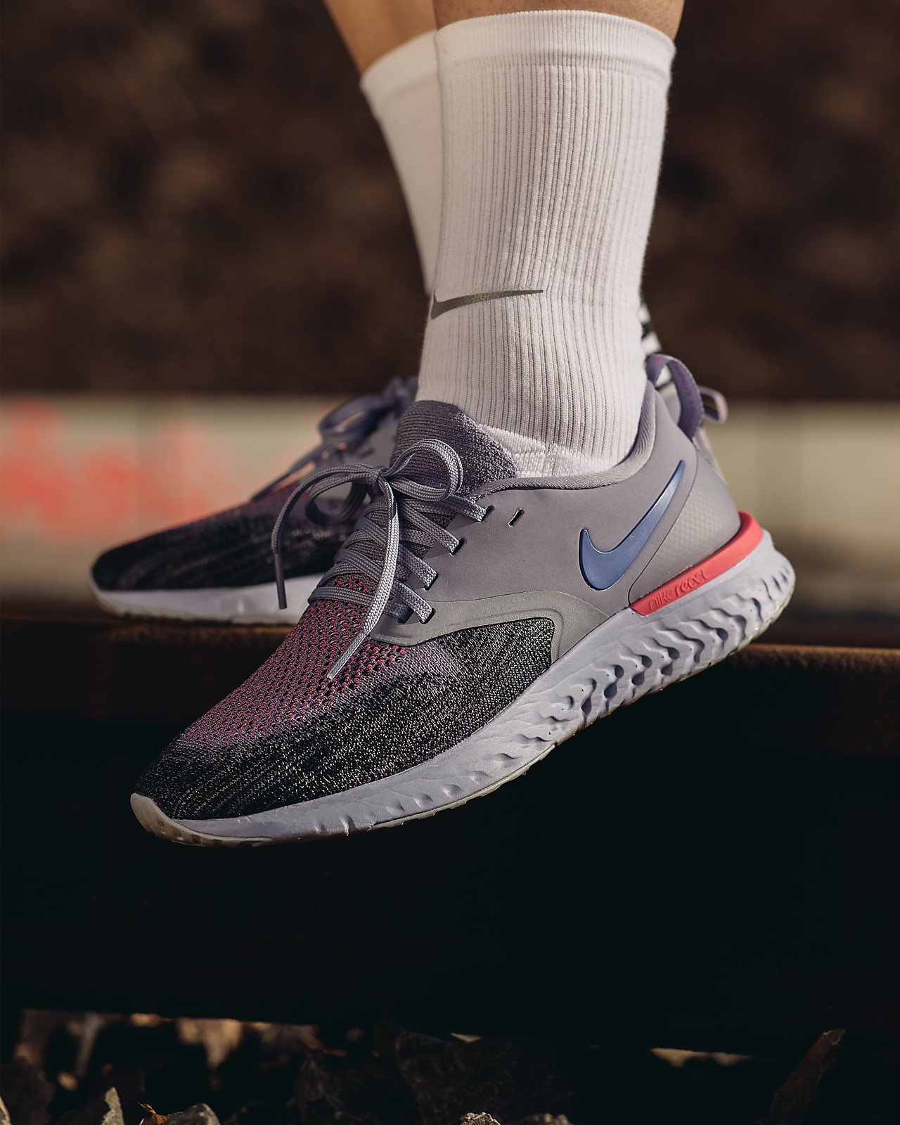 Motear Pintura inferencia  Nike Odyssey React Flyknit 2 Women's Running Shoe. Nike CA