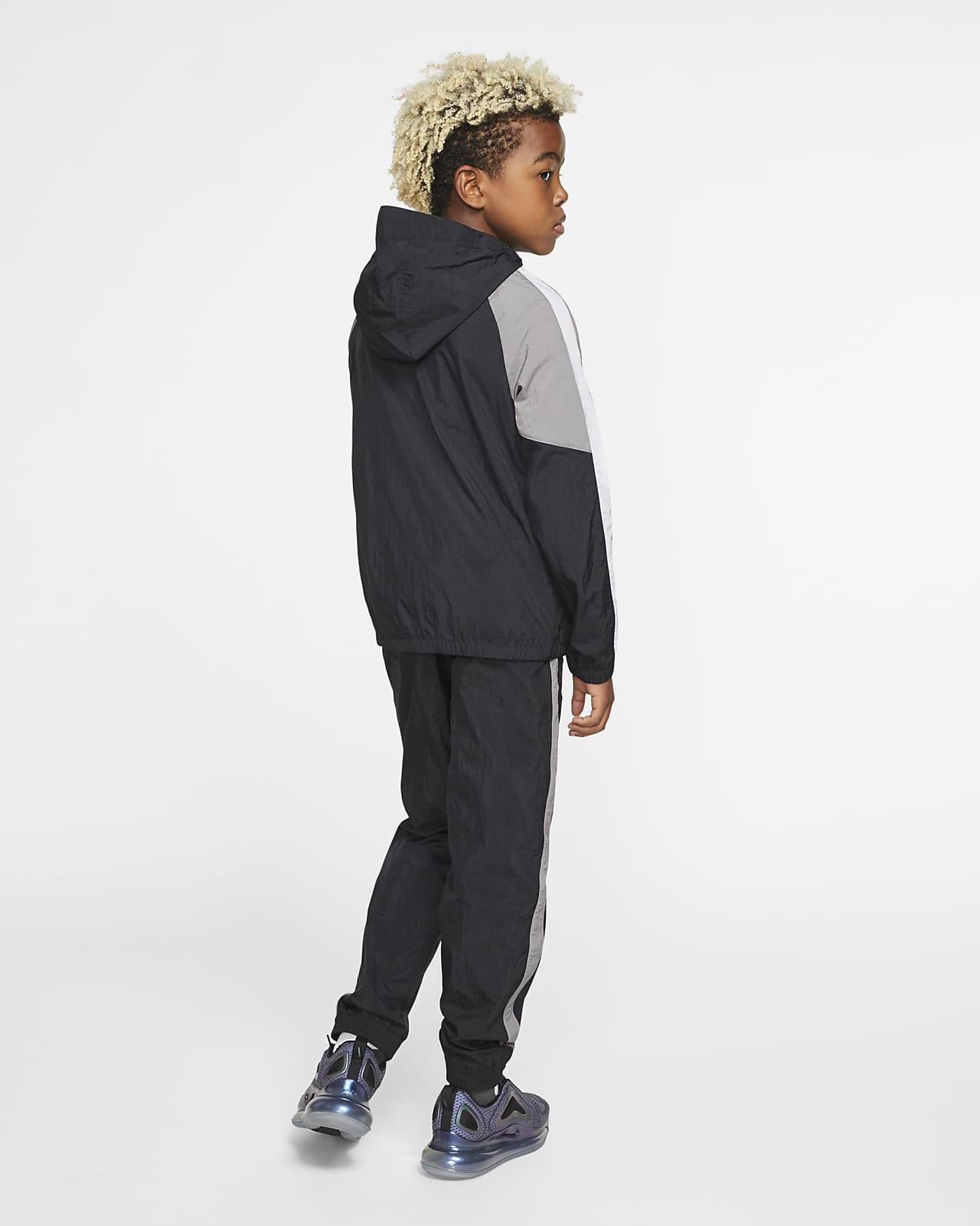Nike Sportswear Older Kids Woven Tracksuit Nike Id