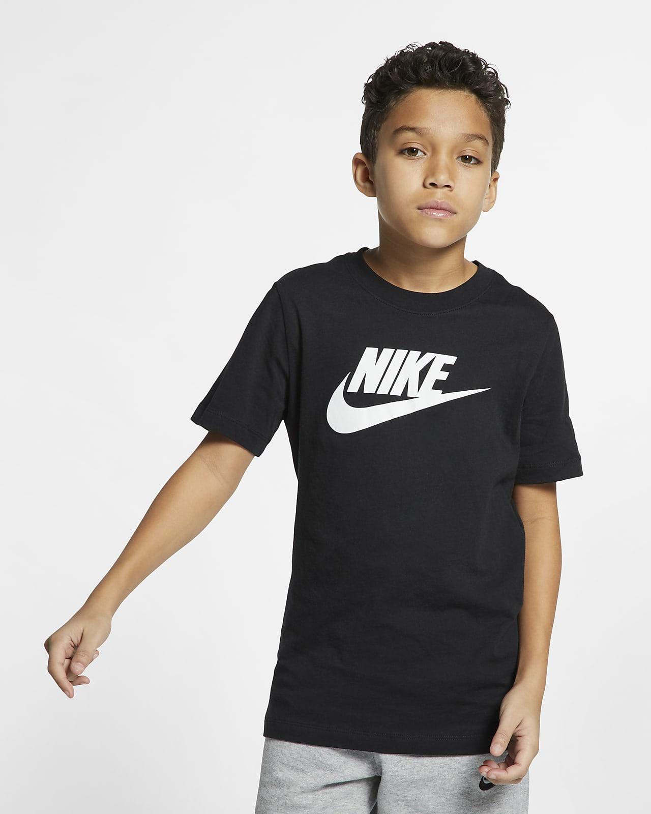 Bomulls-t-shirt Nike Sportswear för ungdom