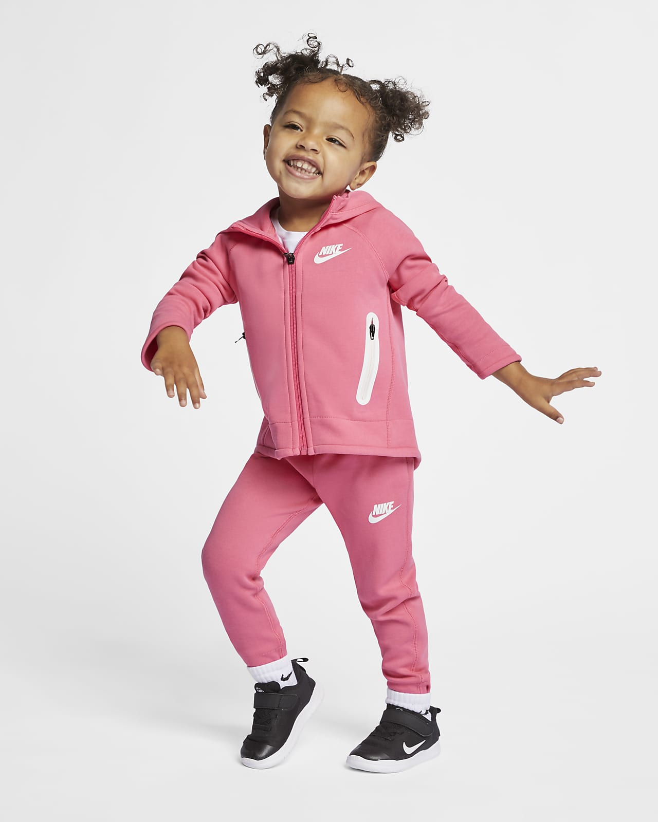 Nike Sportswear Tech Fleece Toddler Hoodie and Pants Set