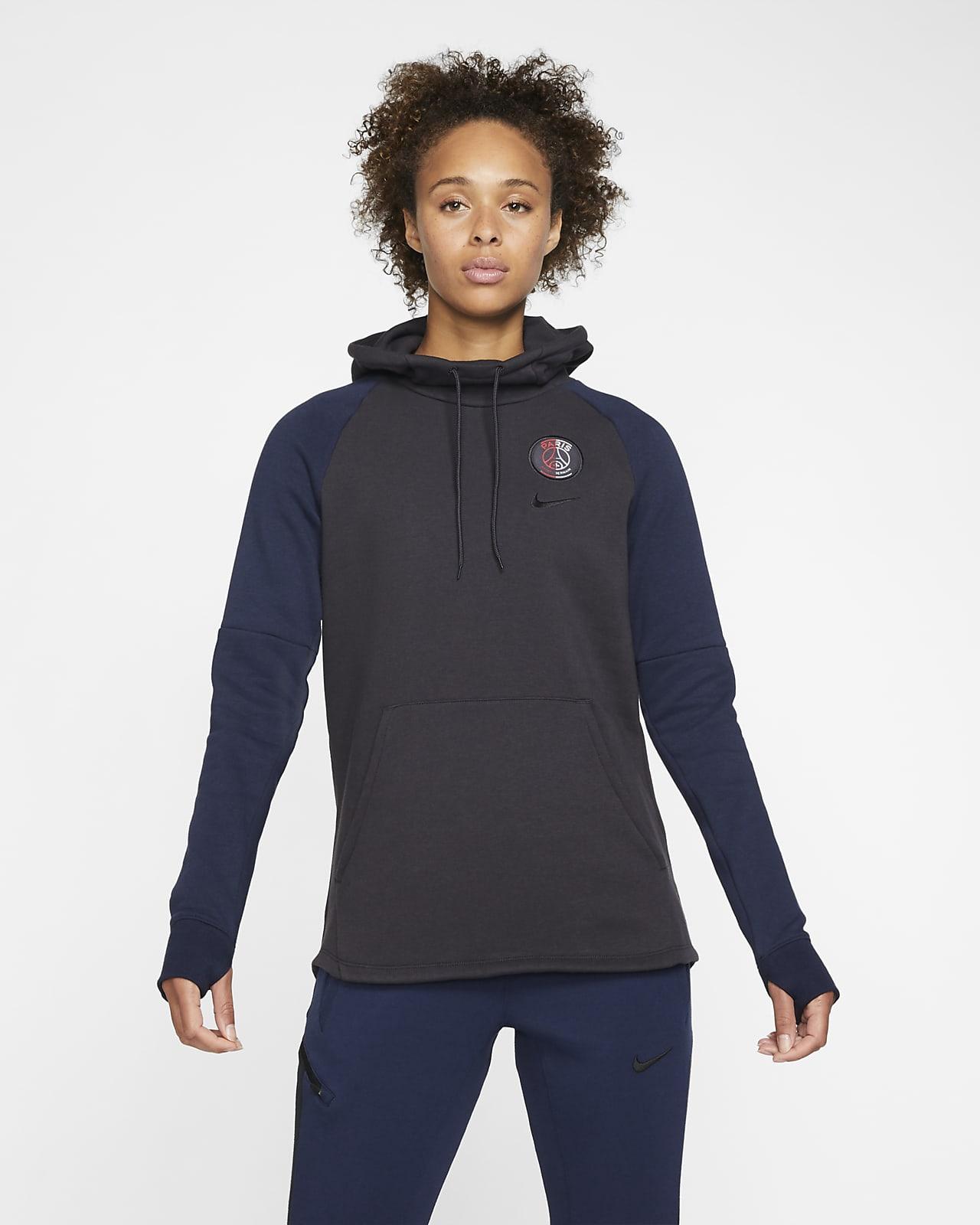 Paris Saint-Germain Fleece-Hoodie für Damen