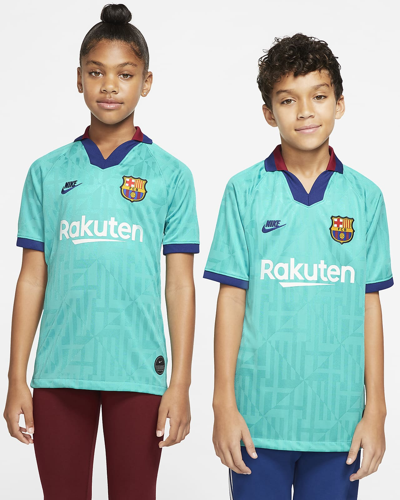 FC Barcelona 2019/20 Stadium Third Camiseta de fútbol - Niño/a