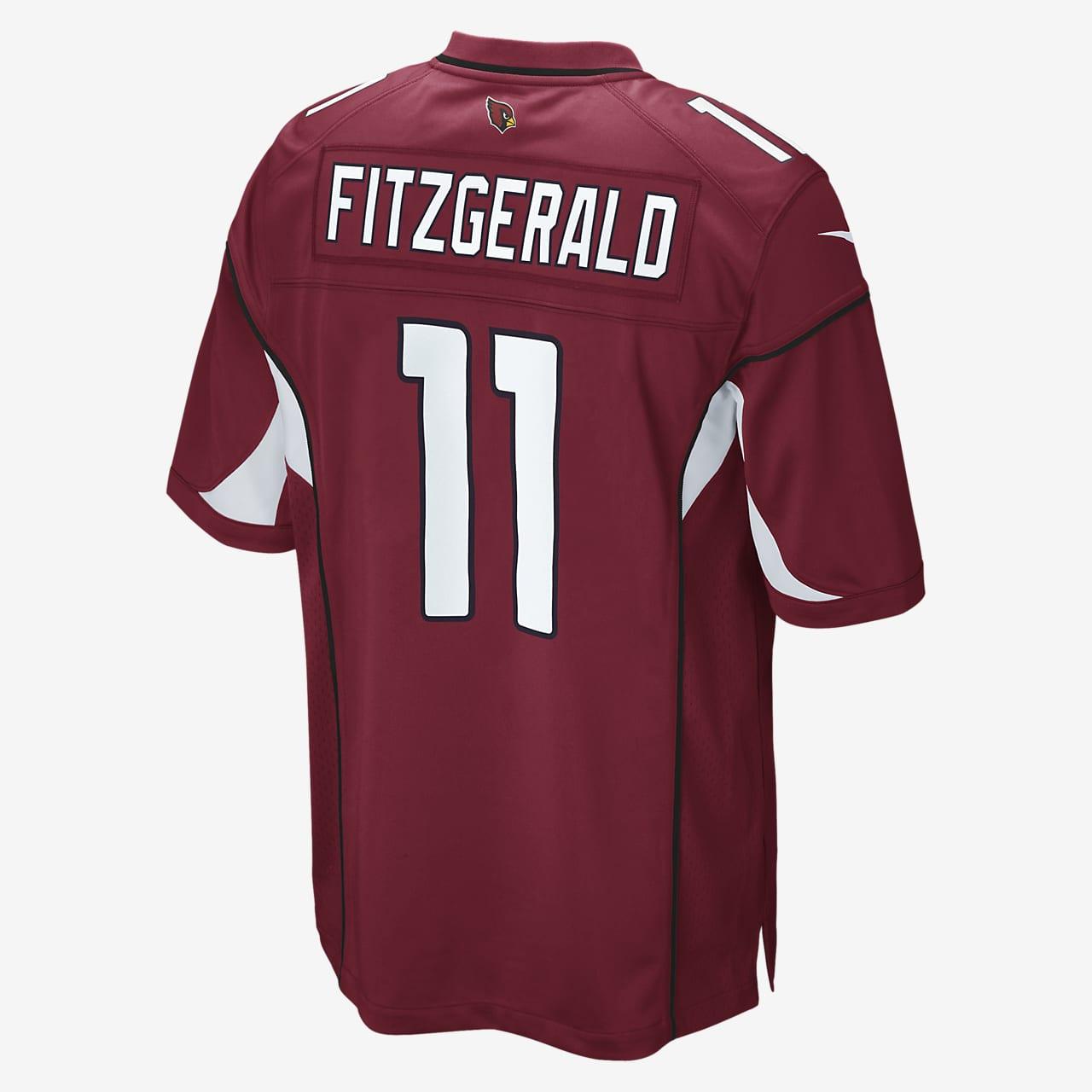 NFL Arizona Cardinals (Larry Fitzgerald) Men's Game Football Jersey