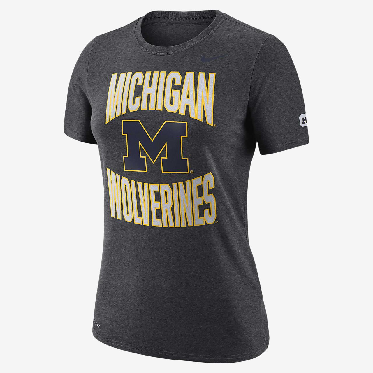 Nike College Dri-FIT (Michigan) Women's T-Shirt