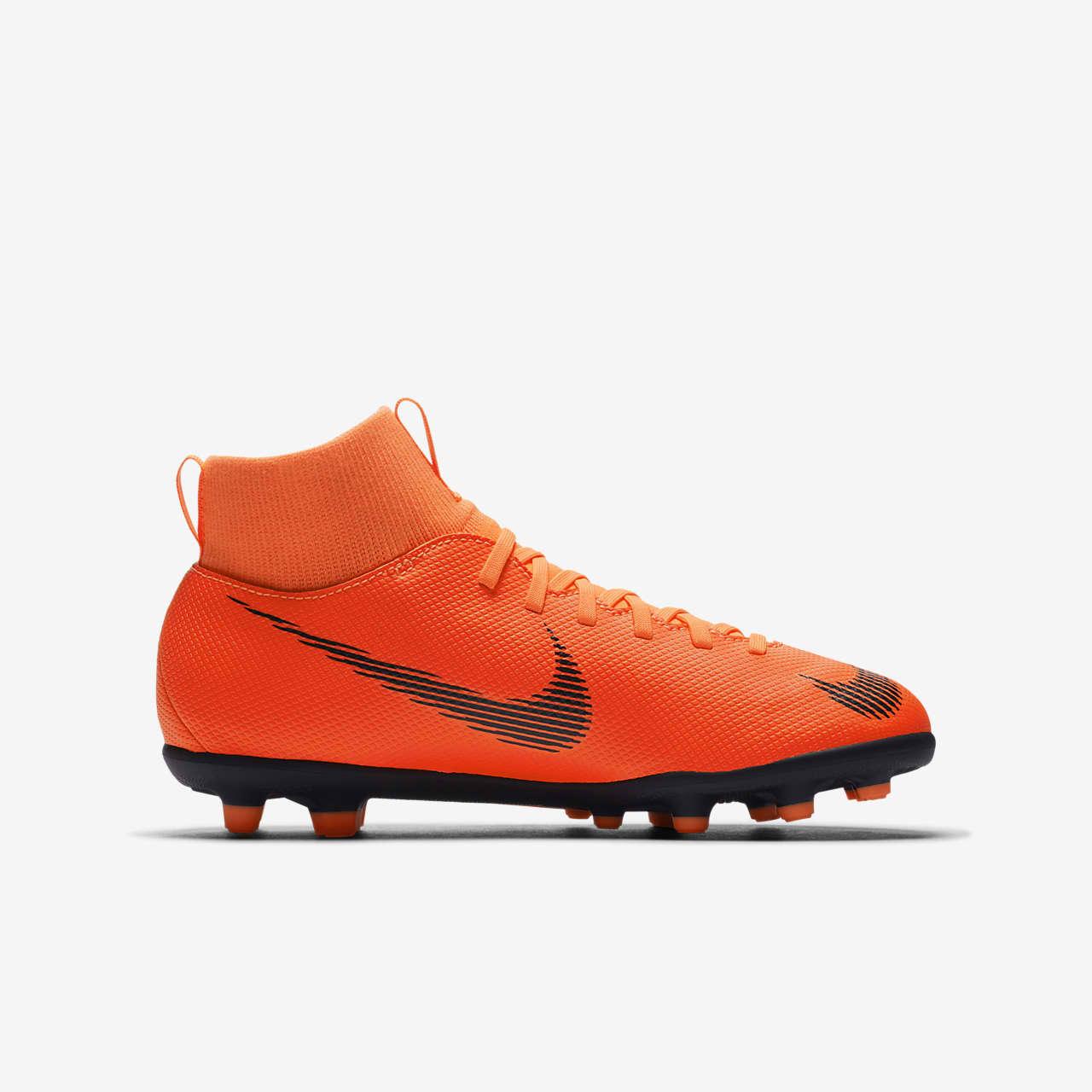 ciclo Retencion Propuesta  Nike Jr. Mercurial Superfly 6 Club MG Younger/Older Kids' Multi-Ground  Football Boot. Nike ID