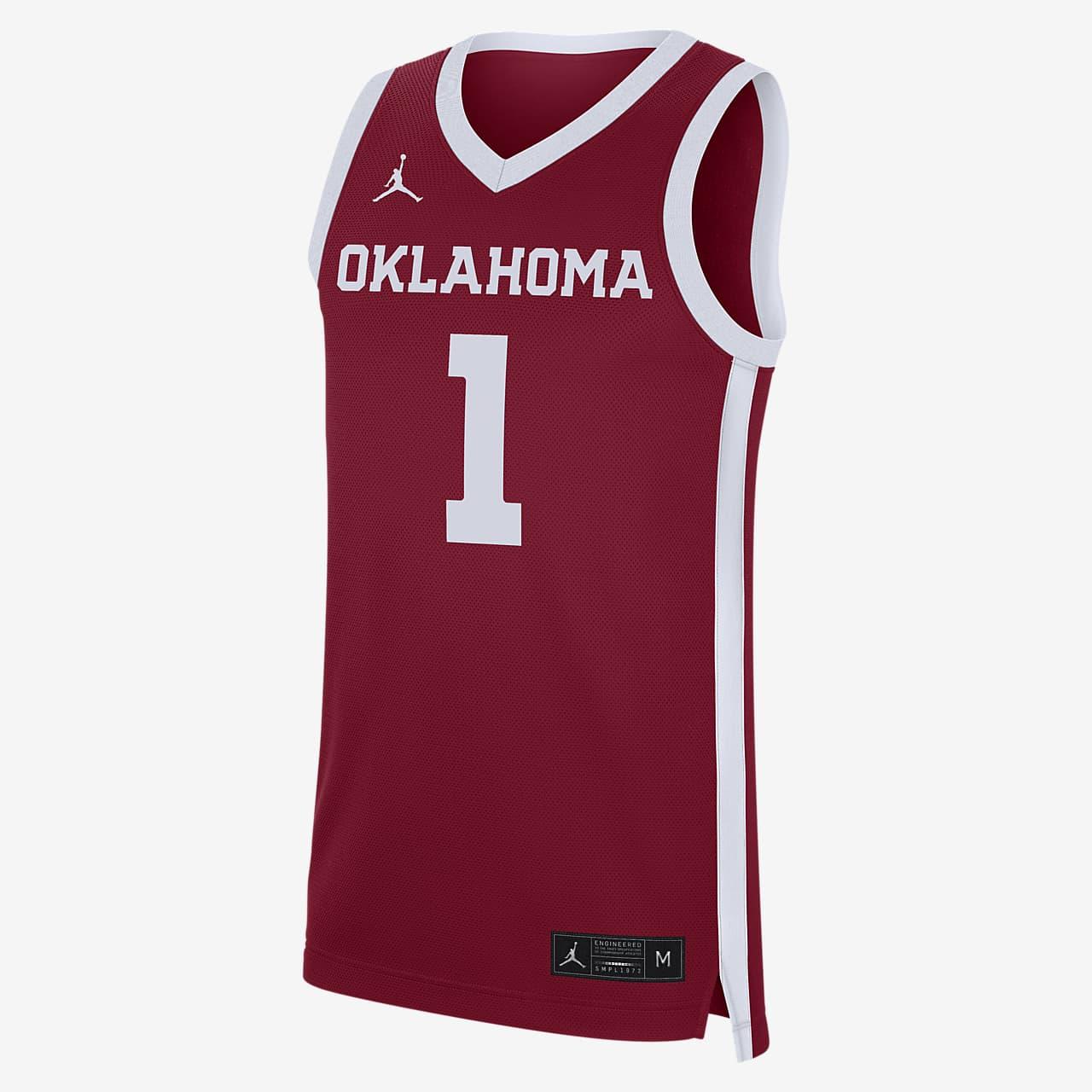 Nike College Replica (Oklahoma) Men's Basketball Jersey