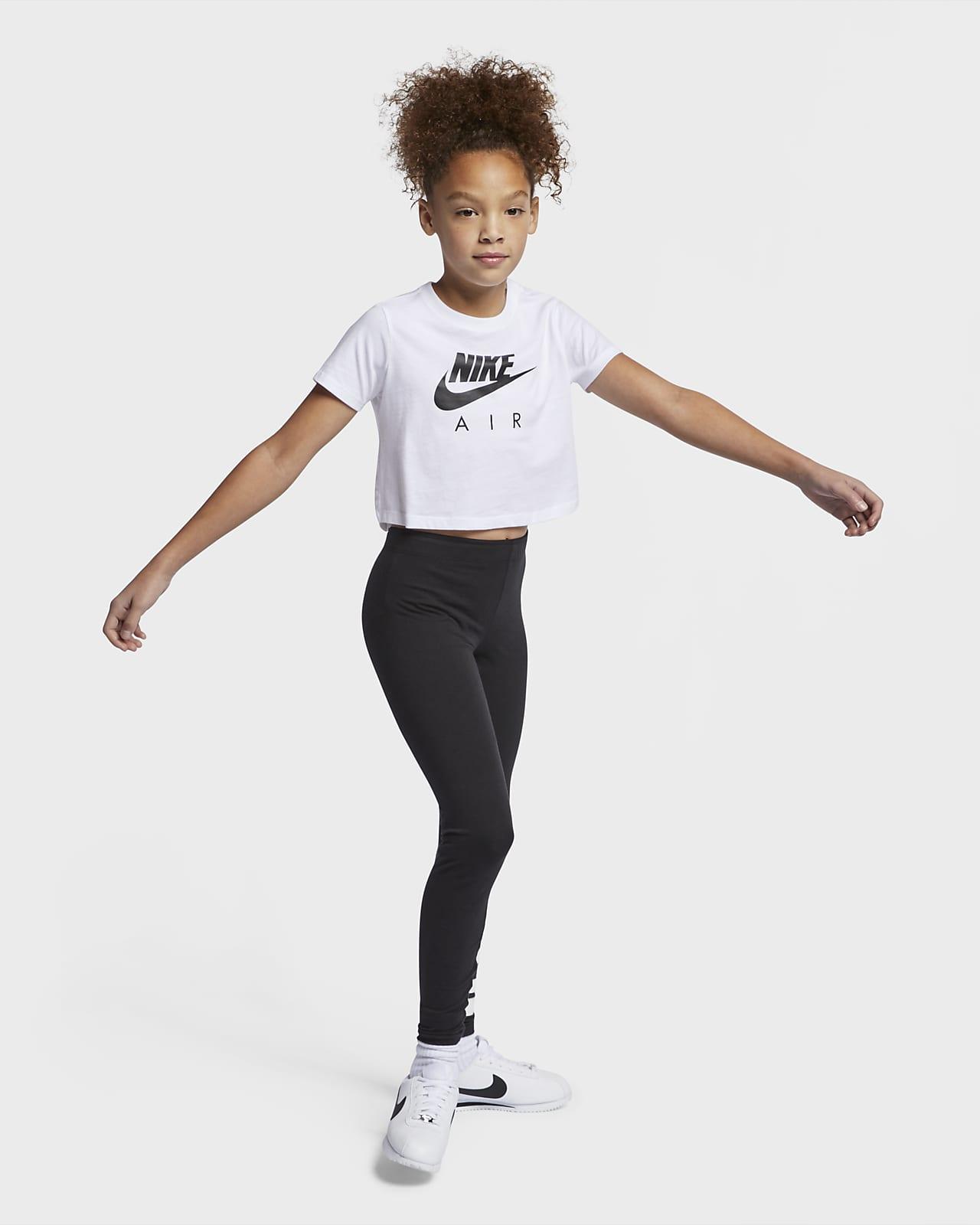 Nike Air Older Kids' (Girls') Crop Top