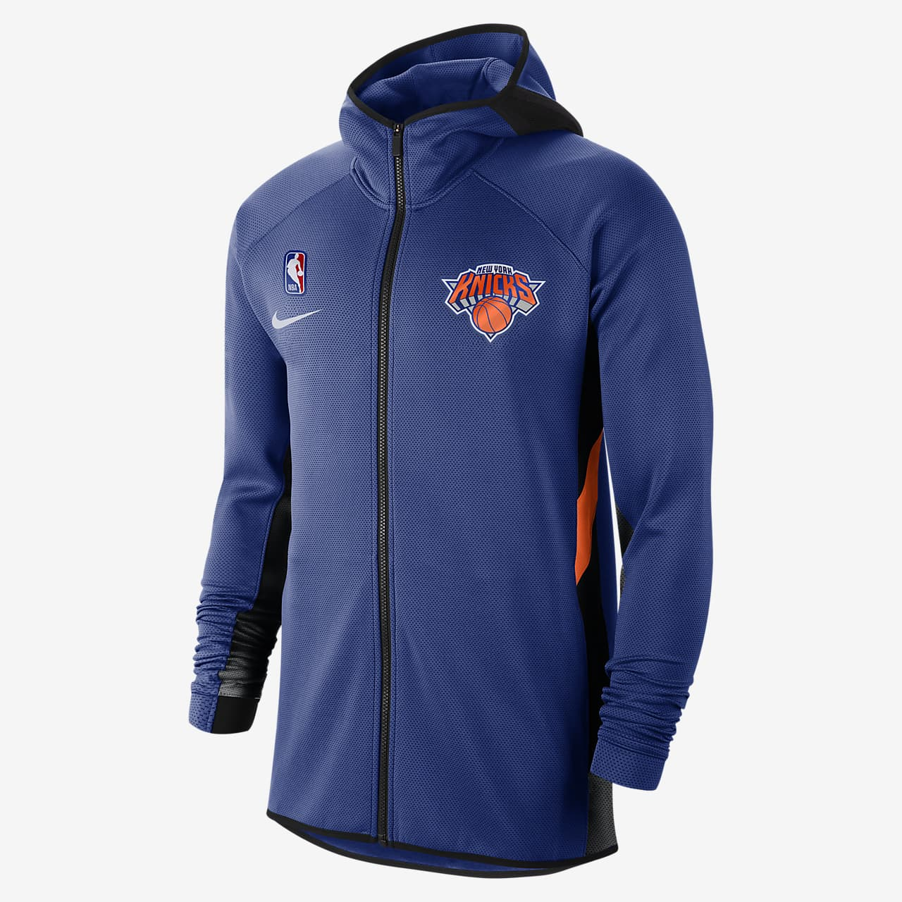 New York Knicks Nike Therma Flex Showtime Men's NBA Hoodie