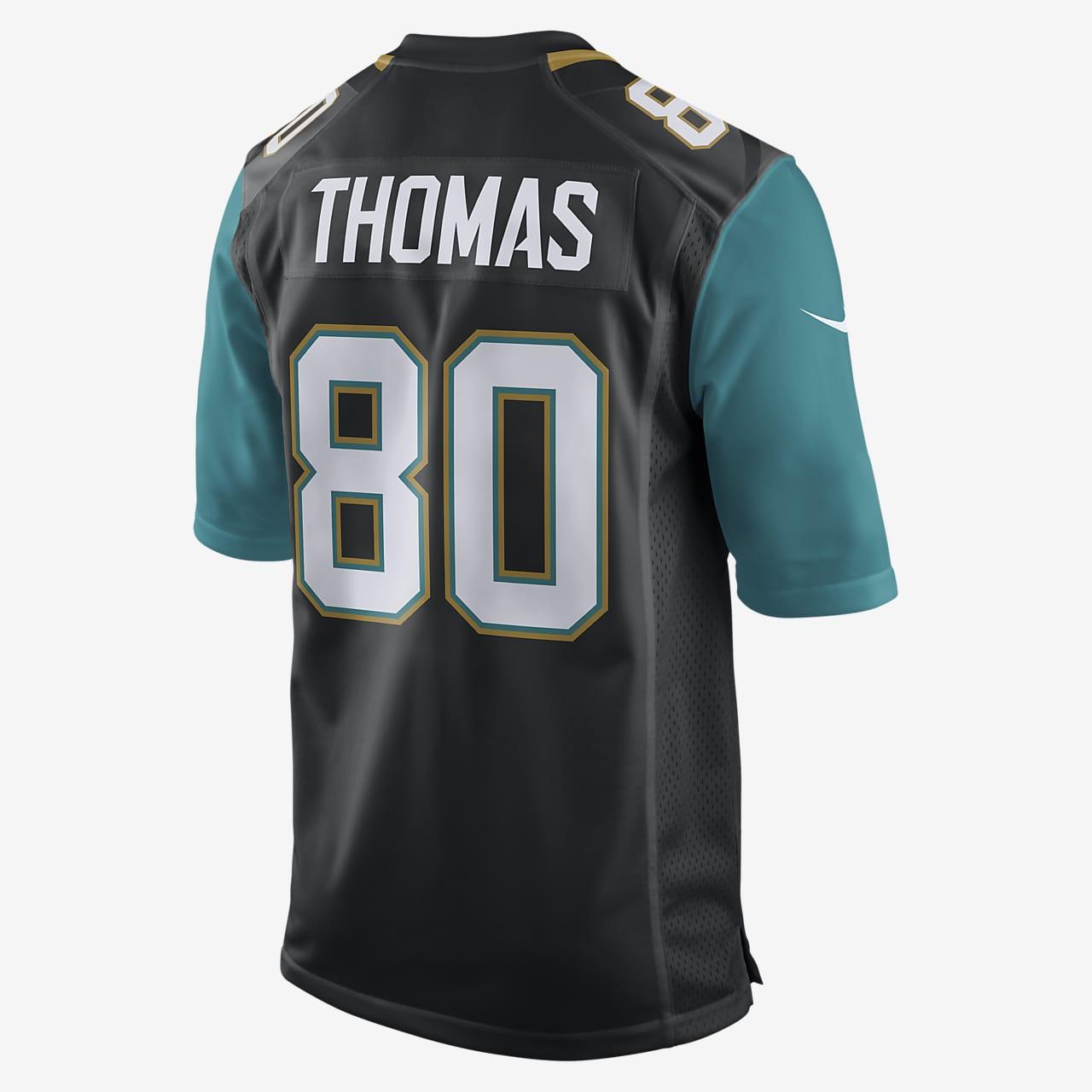 NFL Jacksonville Jaguars (Julius Thomas) Men's American Football Home Game Jersey