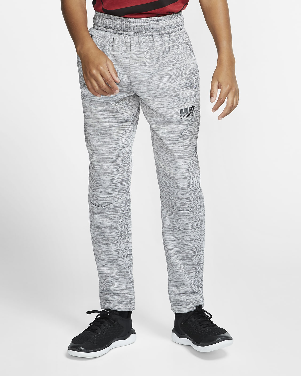 Nike Therma Big Kids' (Boys') Open-Hem Training Pants