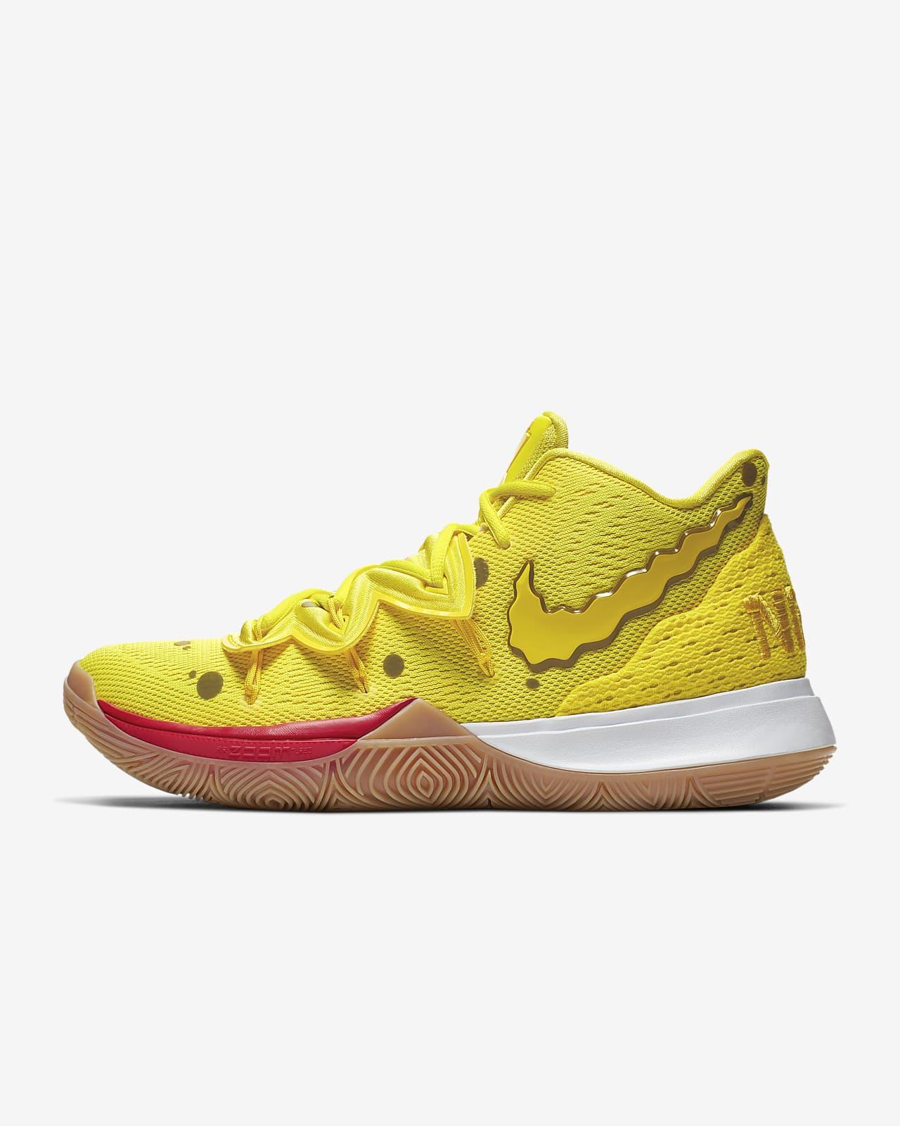 Tipo delantero Canoa Bergantín  Kyrie 5 'SpongeBob SquarePants' Basketball Shoe. Nike.com