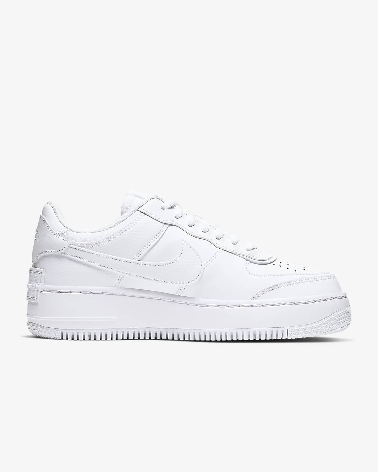 nike air force 1 shadow bianco e nero